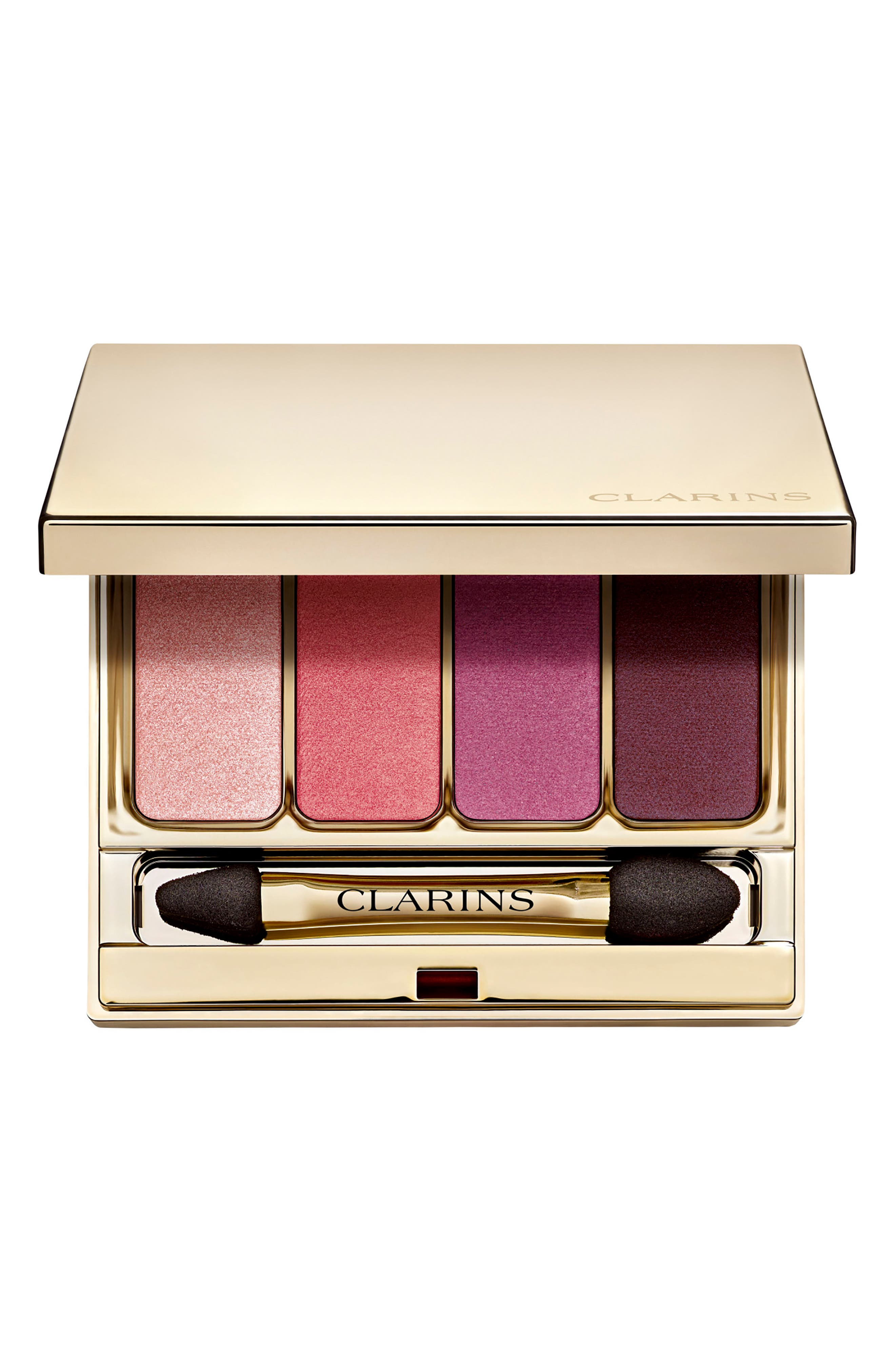 CLARINS,                             4-Color Eyeshadow Palette,                             Main thumbnail 1, color,                             07 LOVELY ROSE