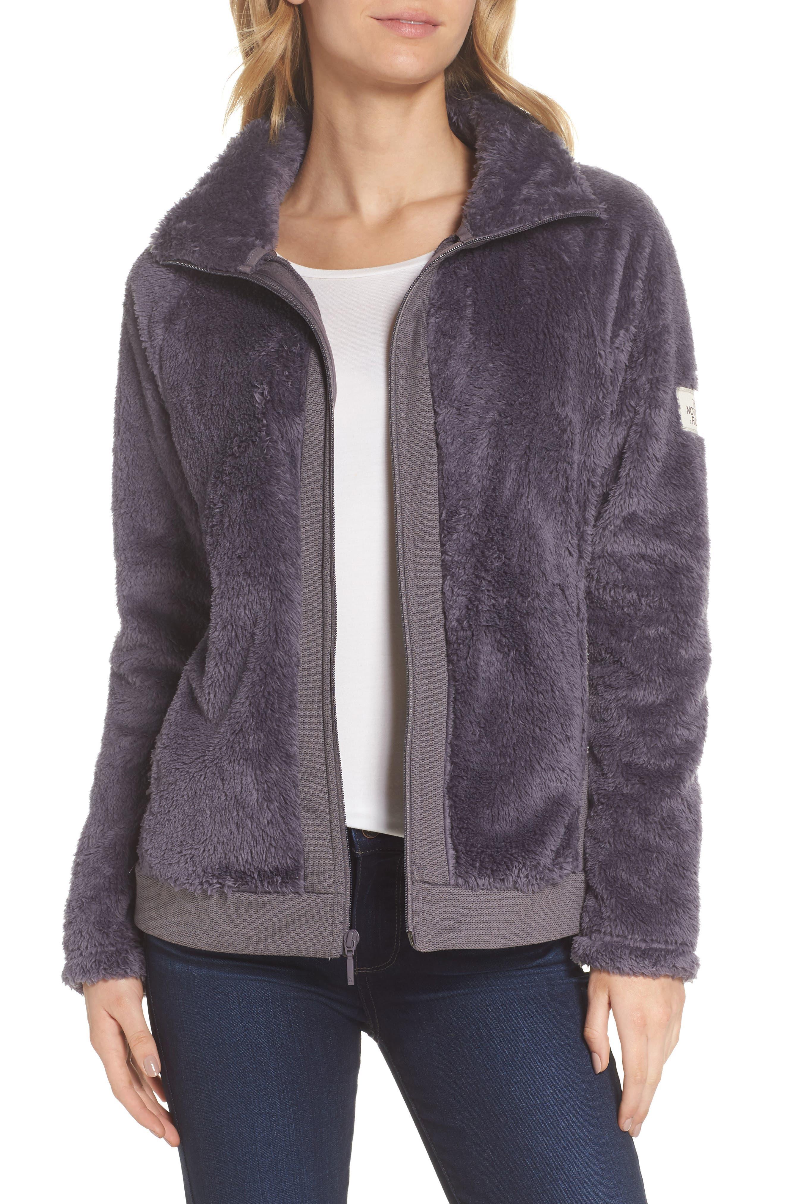 Furry Fleece Jacket,                             Main thumbnail 1, color,                             021
