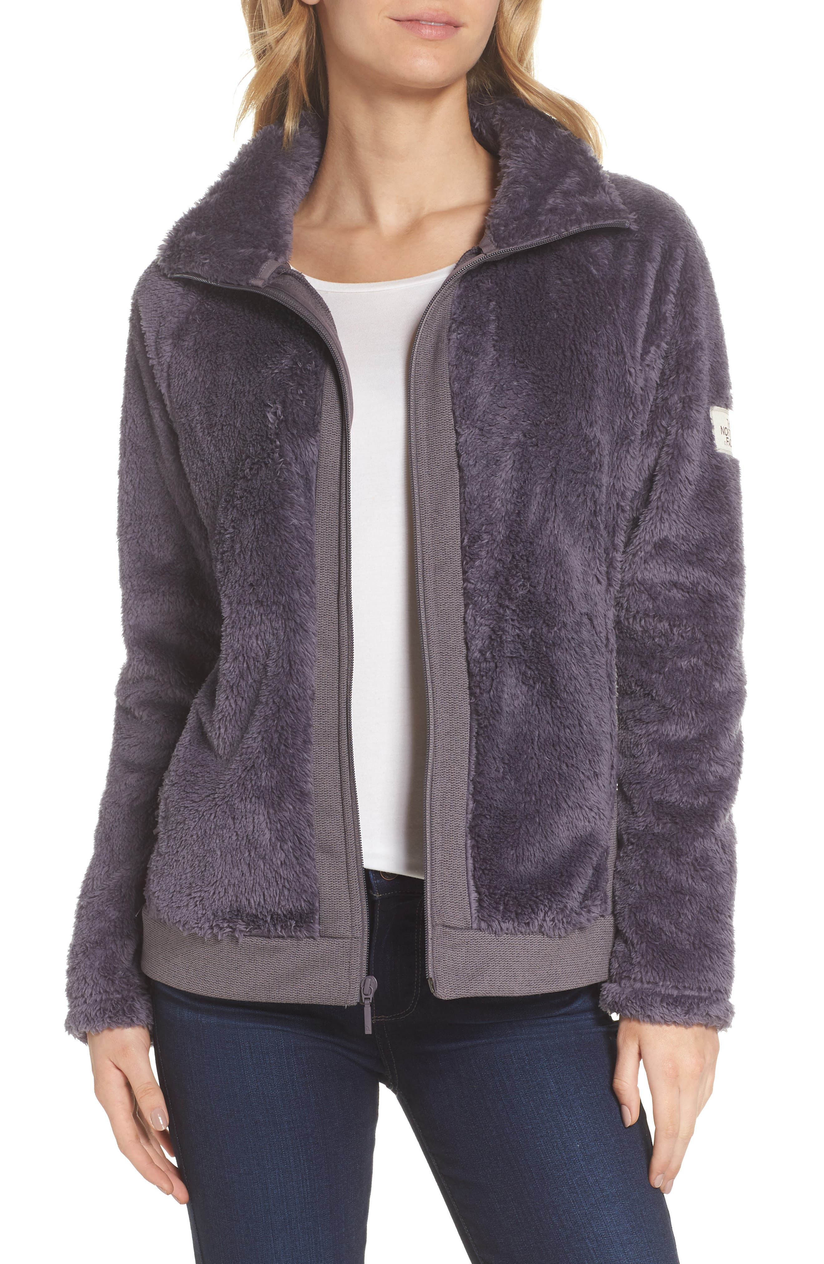 Furry Fleece Jacket,                         Main,                         color, 021