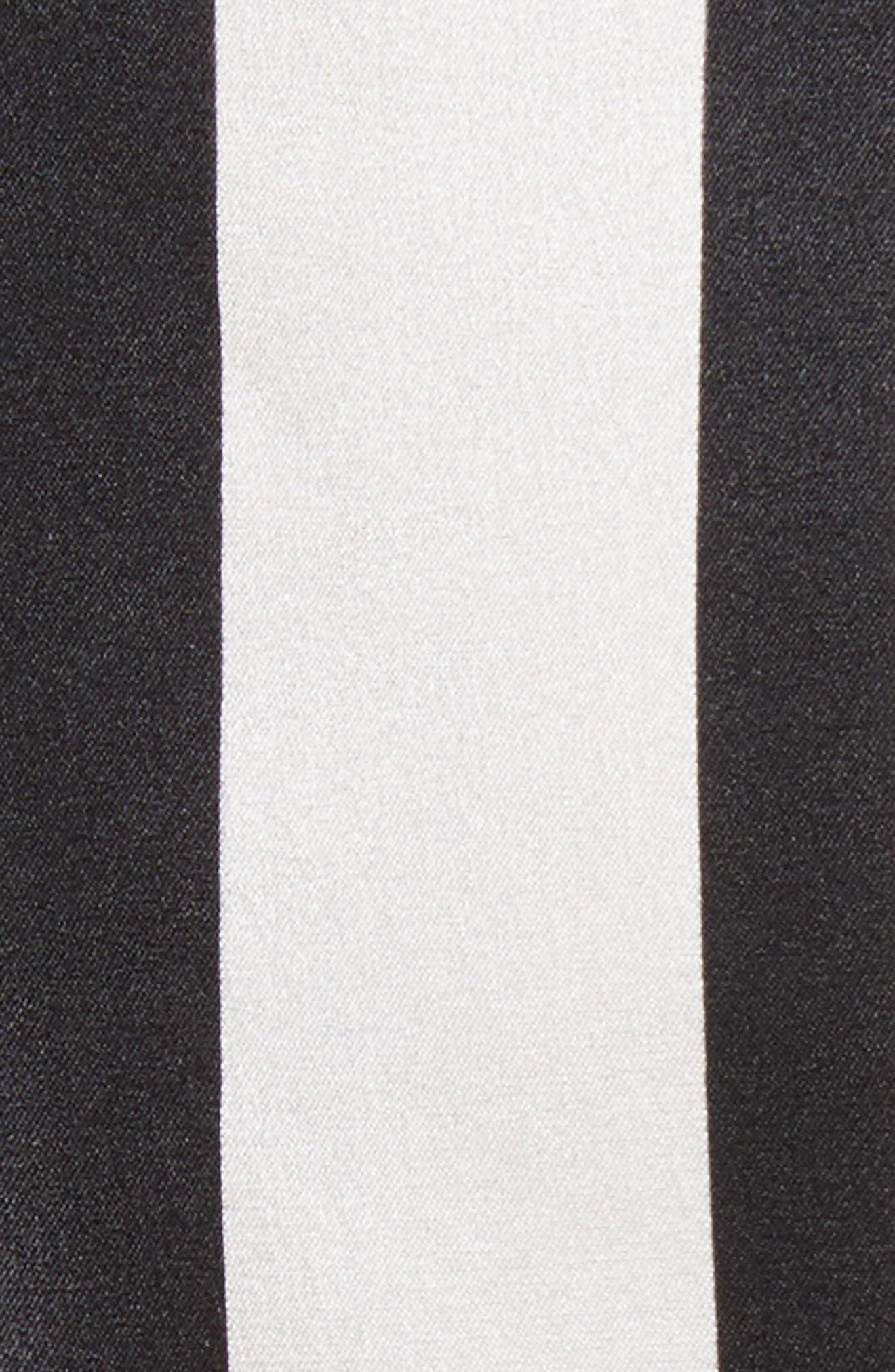 CAROLINE CONSTAS,                             Sadie Stretch Silk Blouse,                             Alternate thumbnail 5, color,                             015