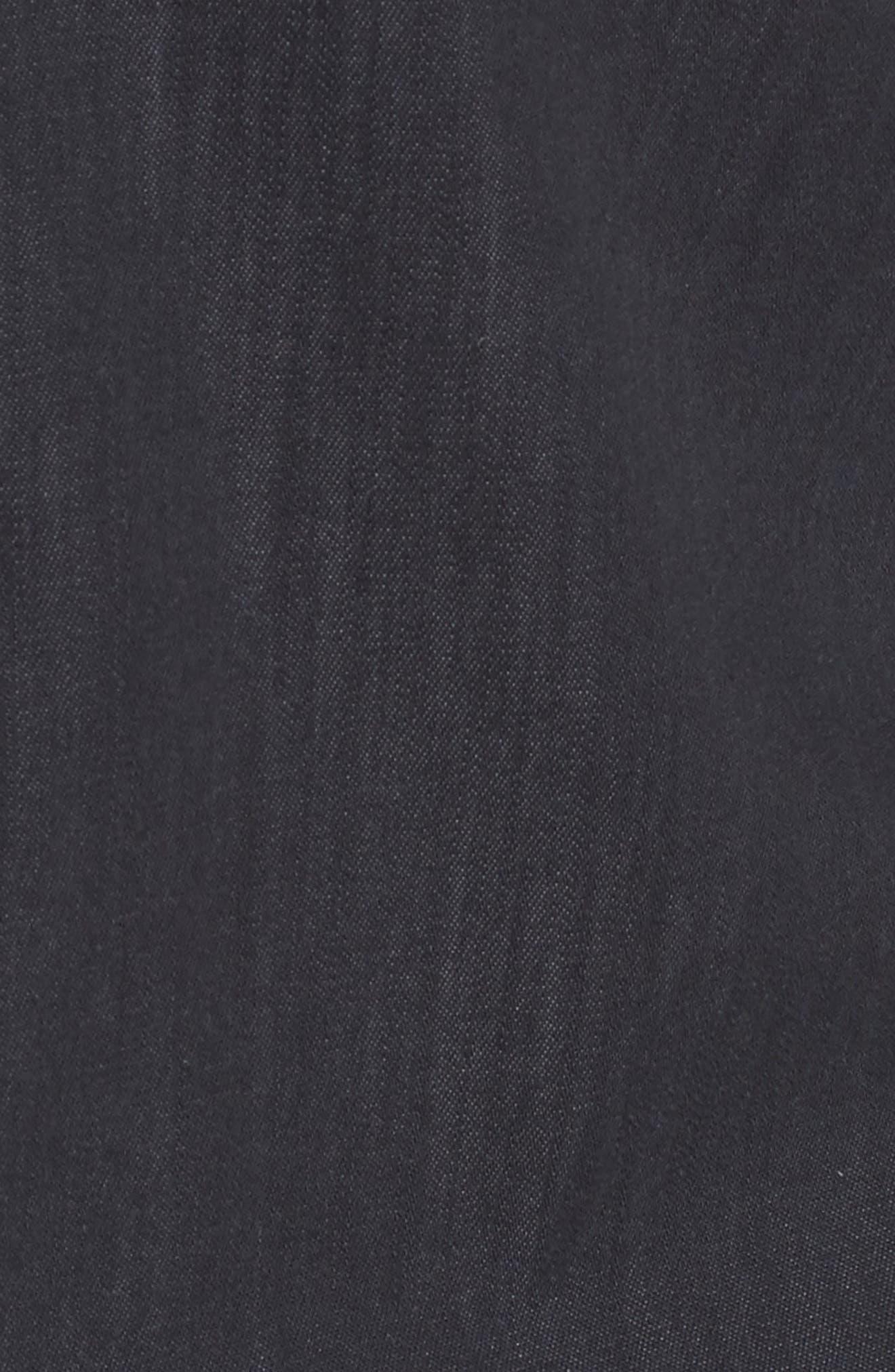 Isabel Denim Shirt,                             Alternate thumbnail 5, color,                             001