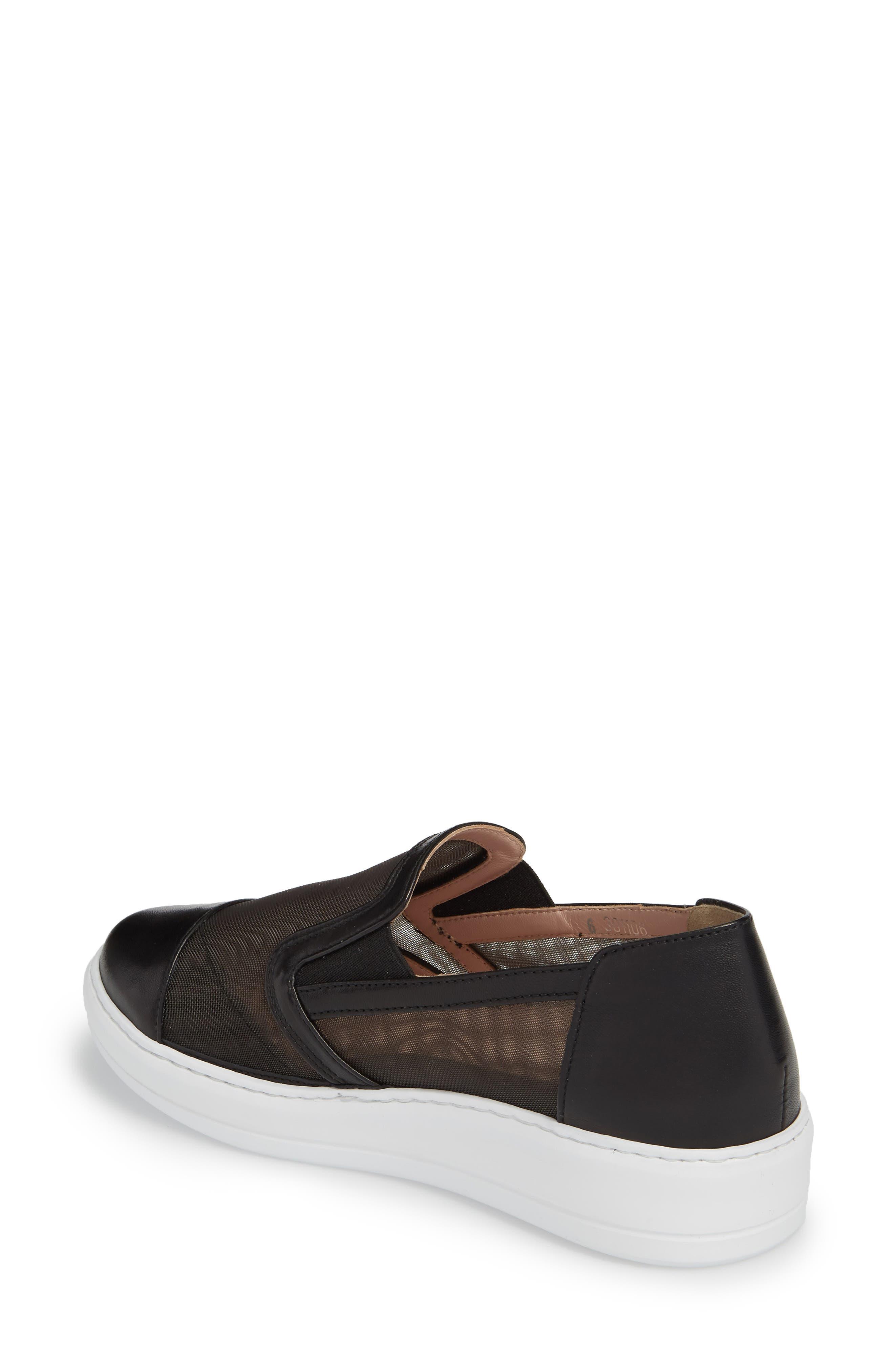Taryn Rose Calandra Slip-On Sneaker,                             Alternate thumbnail 2, color,                             004