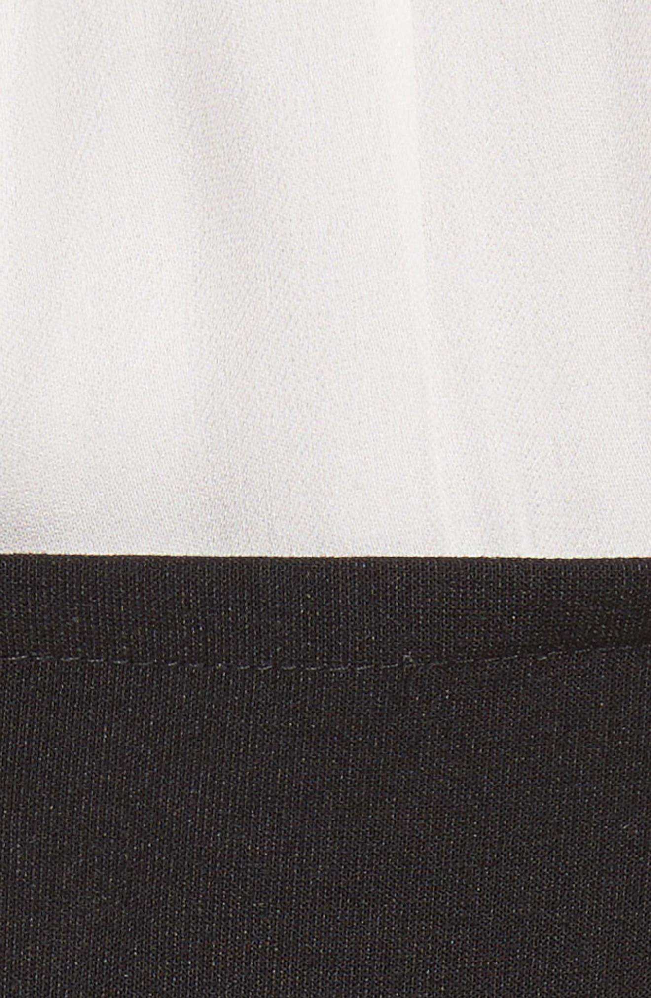 Noemi Halter Neck Dress,                             Alternate thumbnail 5, color,                             015