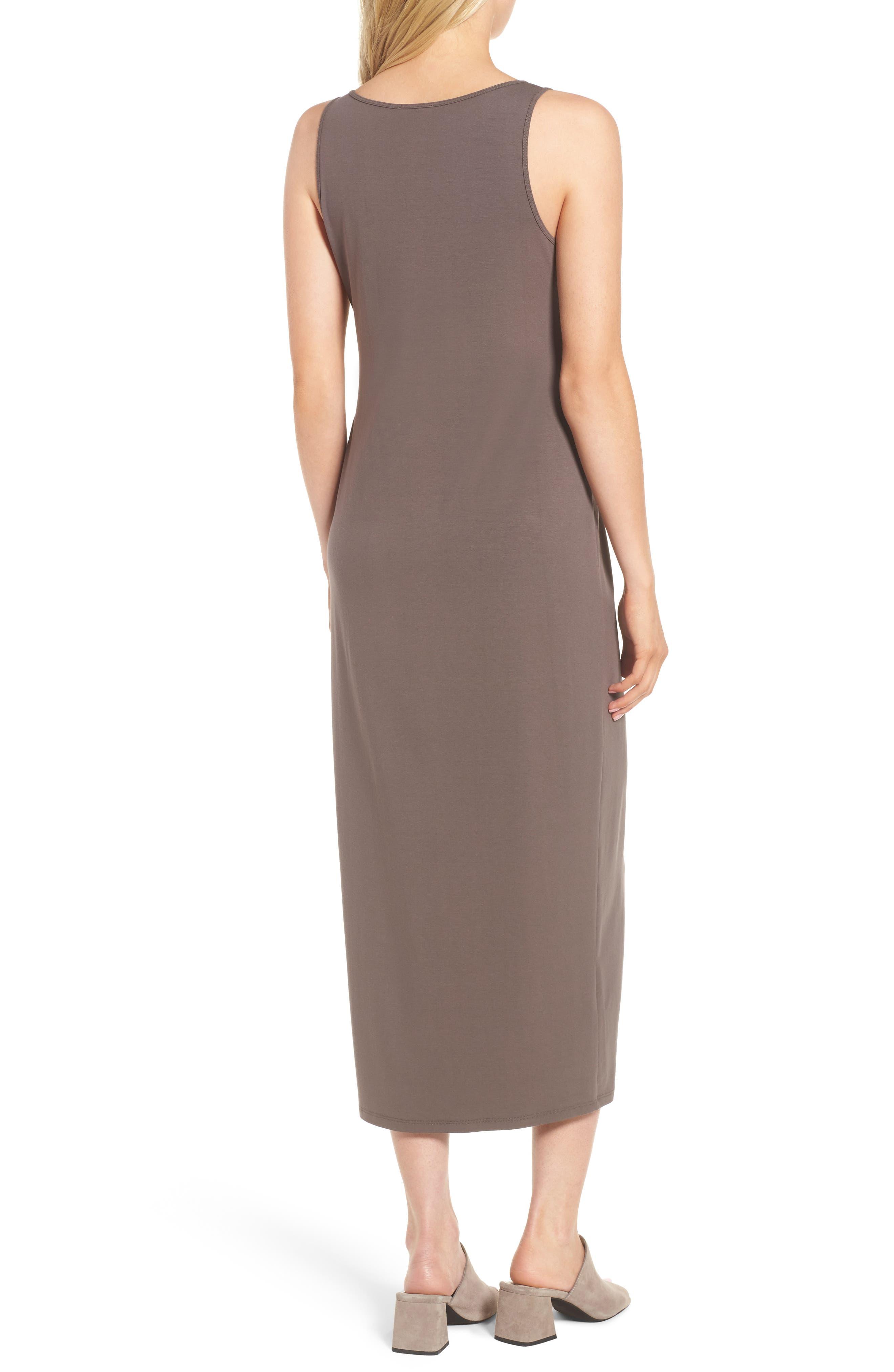 Scoop Neck Jersey Midi Dress,                             Alternate thumbnail 2, color,                             024