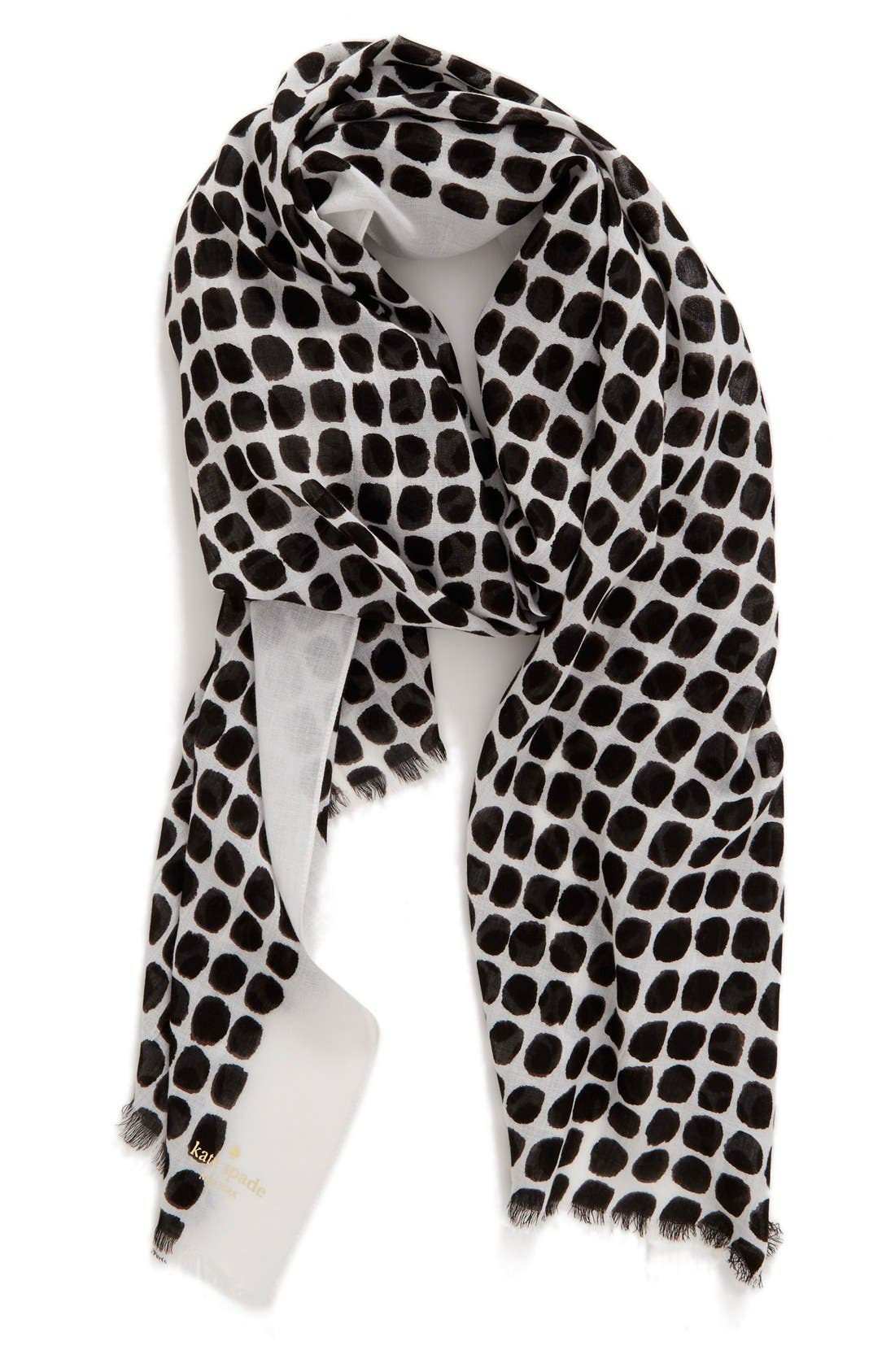 'seaglass dots' scarf,                         Main,                         color, 013