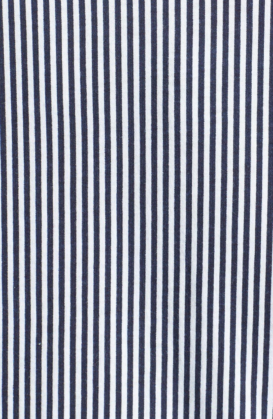Knit Crop Pajamas,                             Alternate thumbnail 9, color,