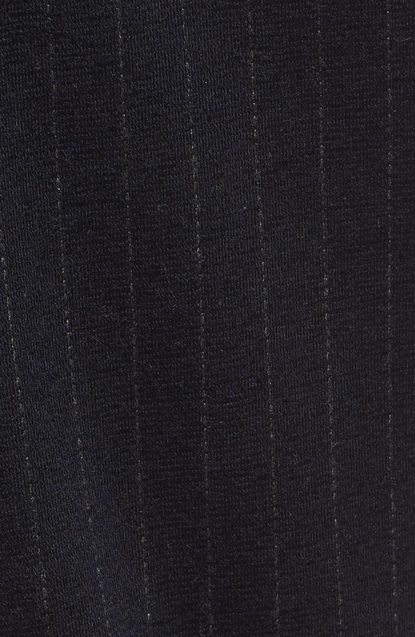 Pinstripe Tapered Jogger Pants,                             Alternate thumbnail 5, color,                             410