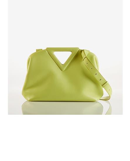 Women's designer handbags and wallets.