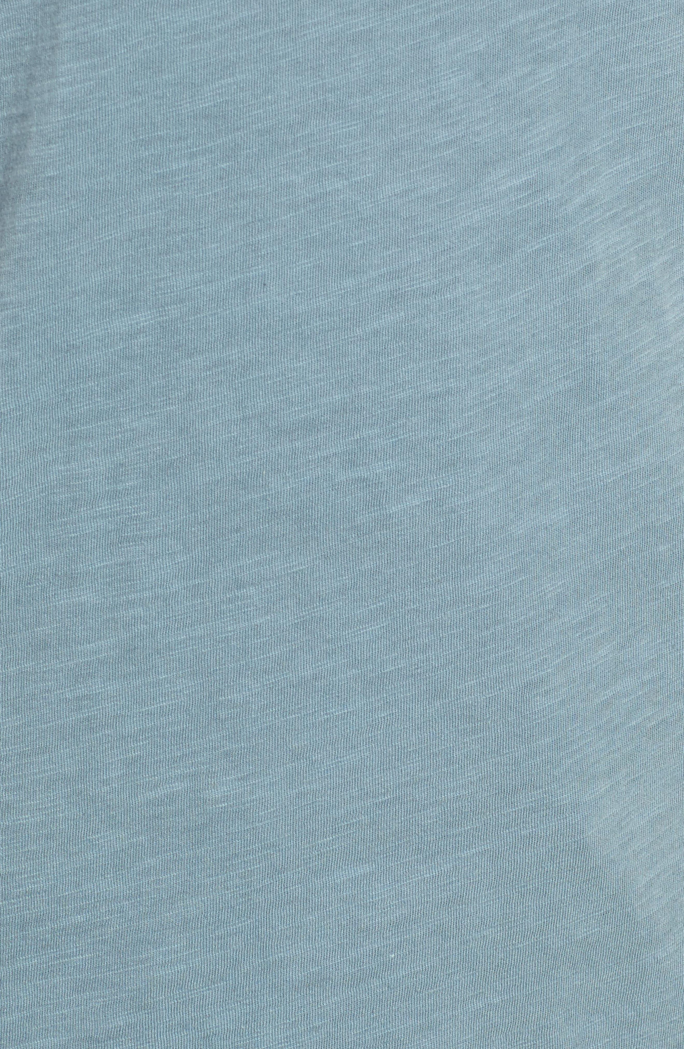 Organic Cotton V-Neck Tee,                             Alternate thumbnail 76, color,