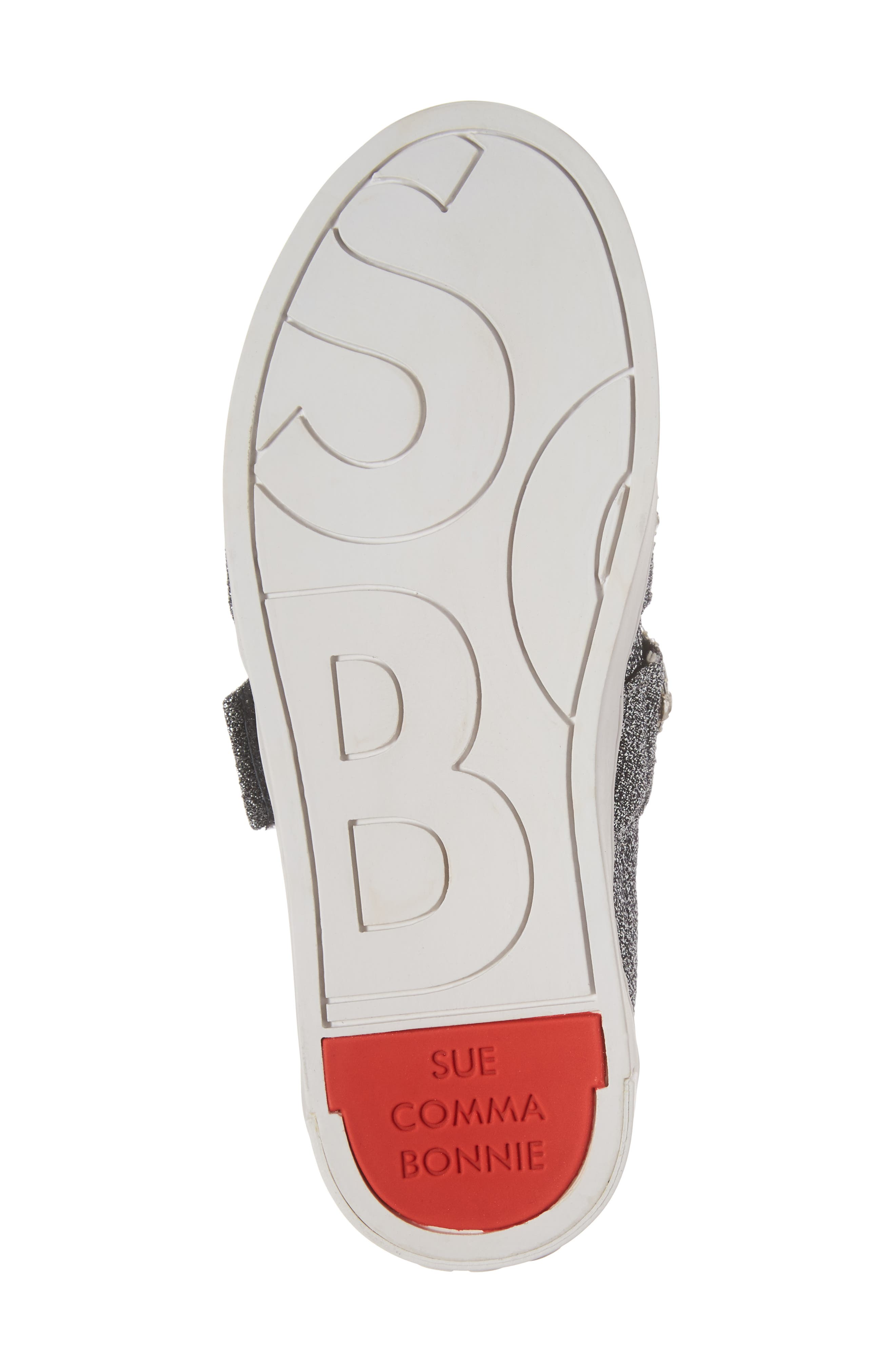 SUECOMMA BONNIE,                             Crystal Embellished Sneaker,                             Alternate thumbnail 6, color,                             040