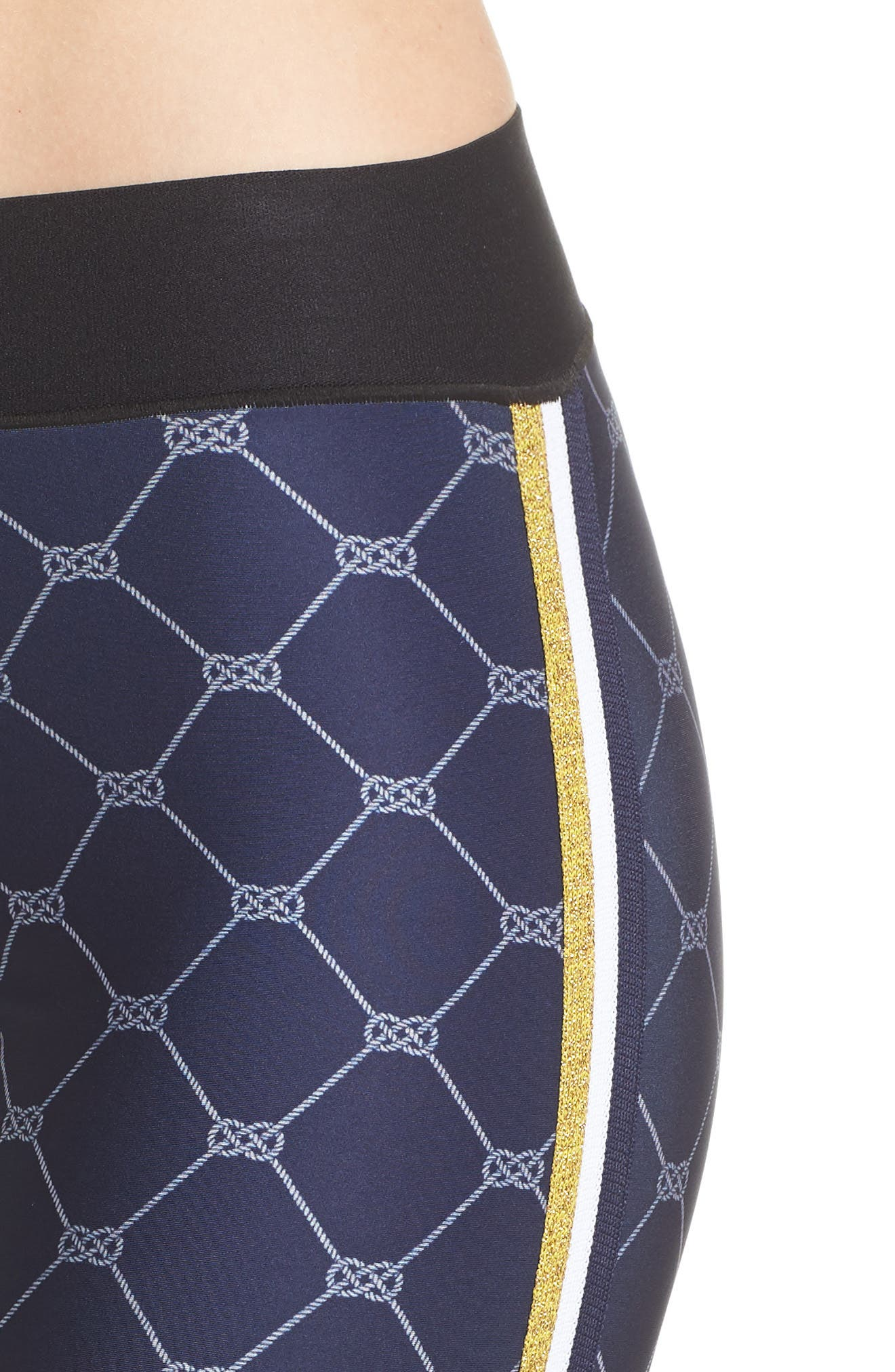 Ultra Sailor Leggings,                             Alternate thumbnail 4, color,                             NAVY/ NAVY