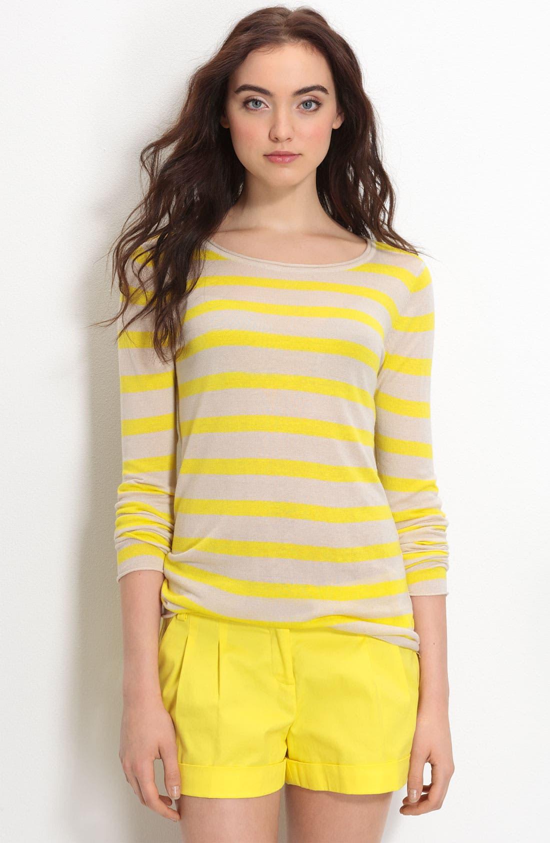 Stripe Sweater,                             Main thumbnail 1, color,                             754