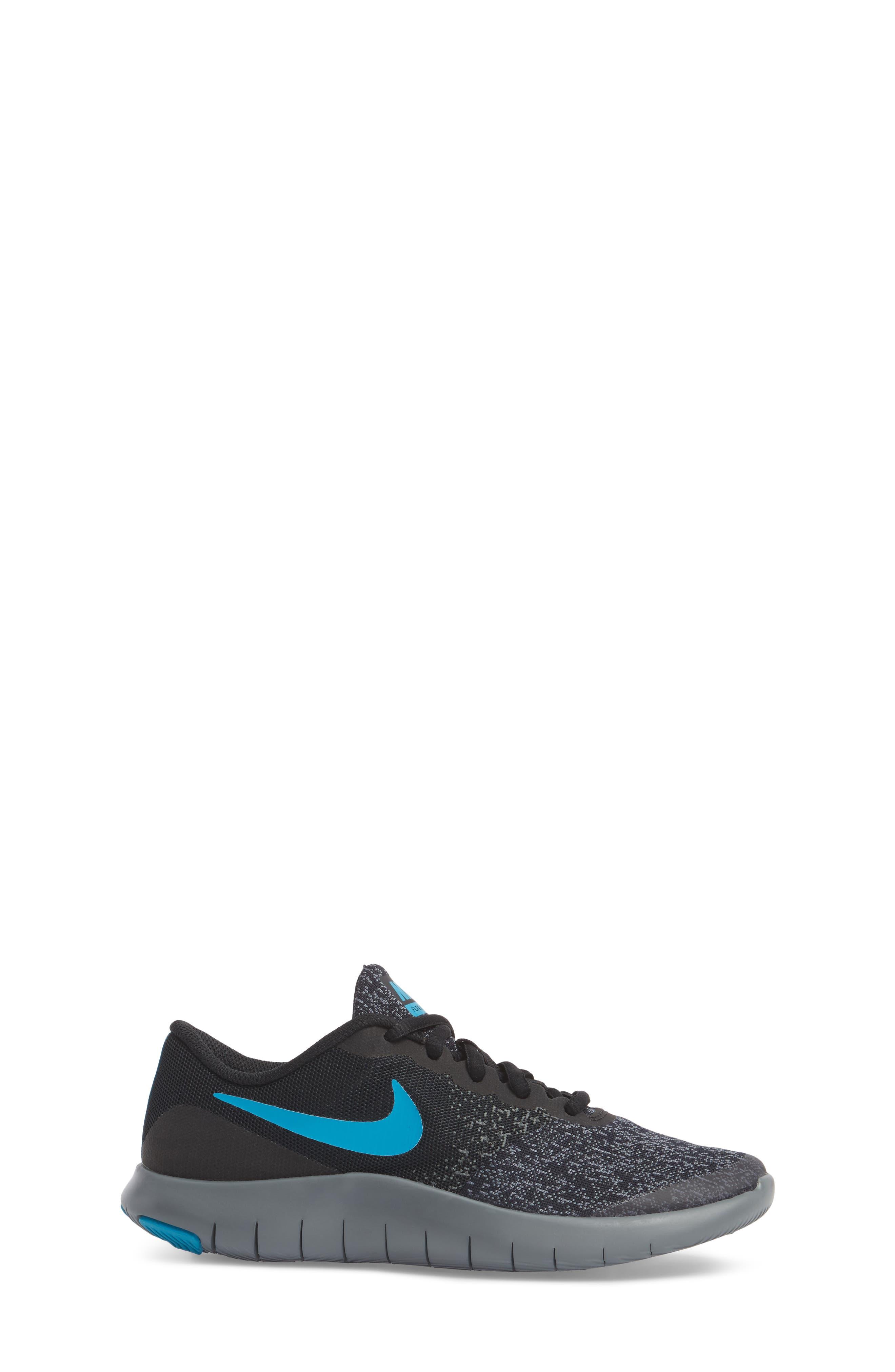 Flex Contact Running Shoe,                             Alternate thumbnail 3, color,                             007