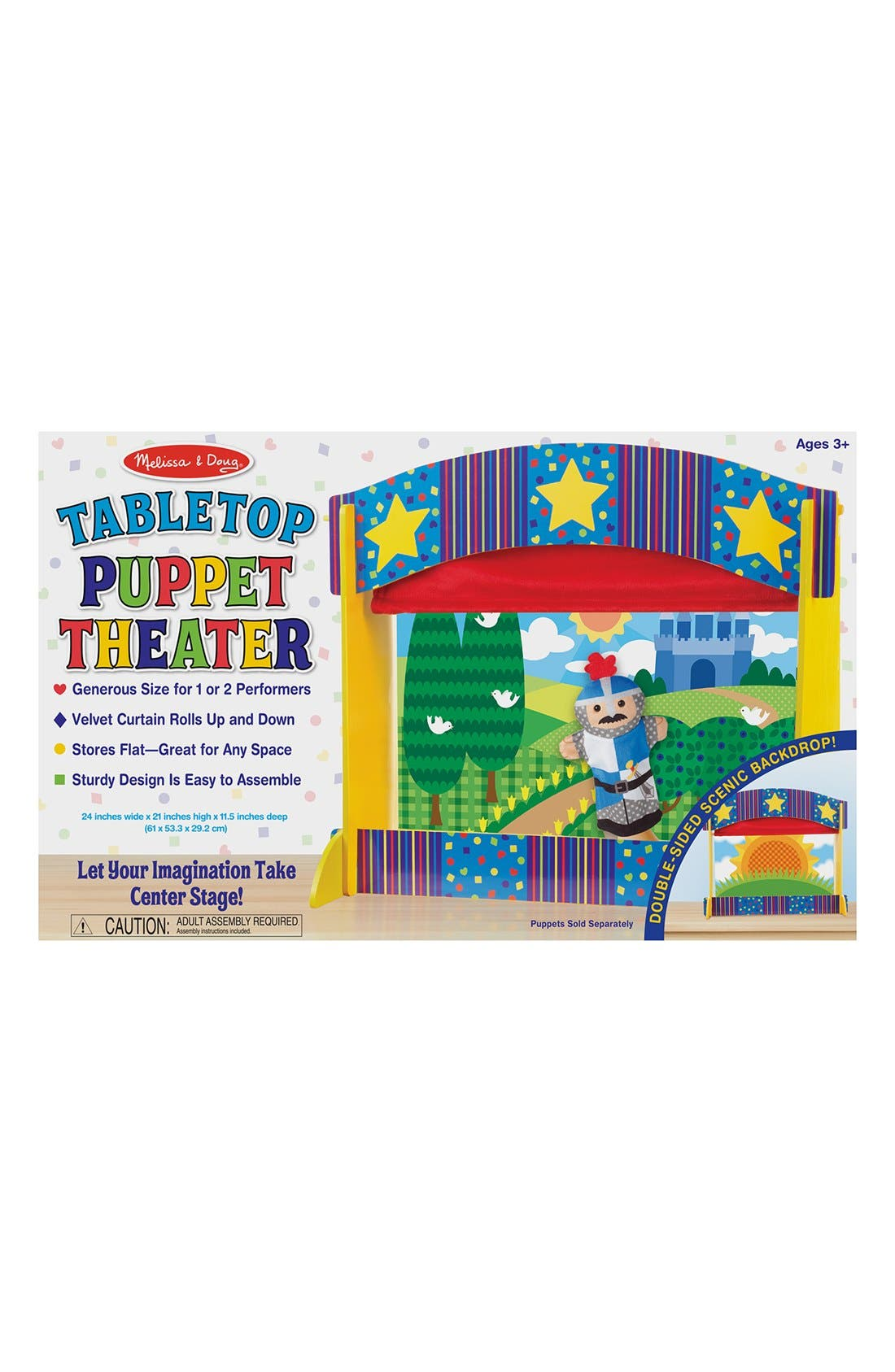 Tabletop Puppet Theater,                             Main thumbnail 1, color,                             MULTI