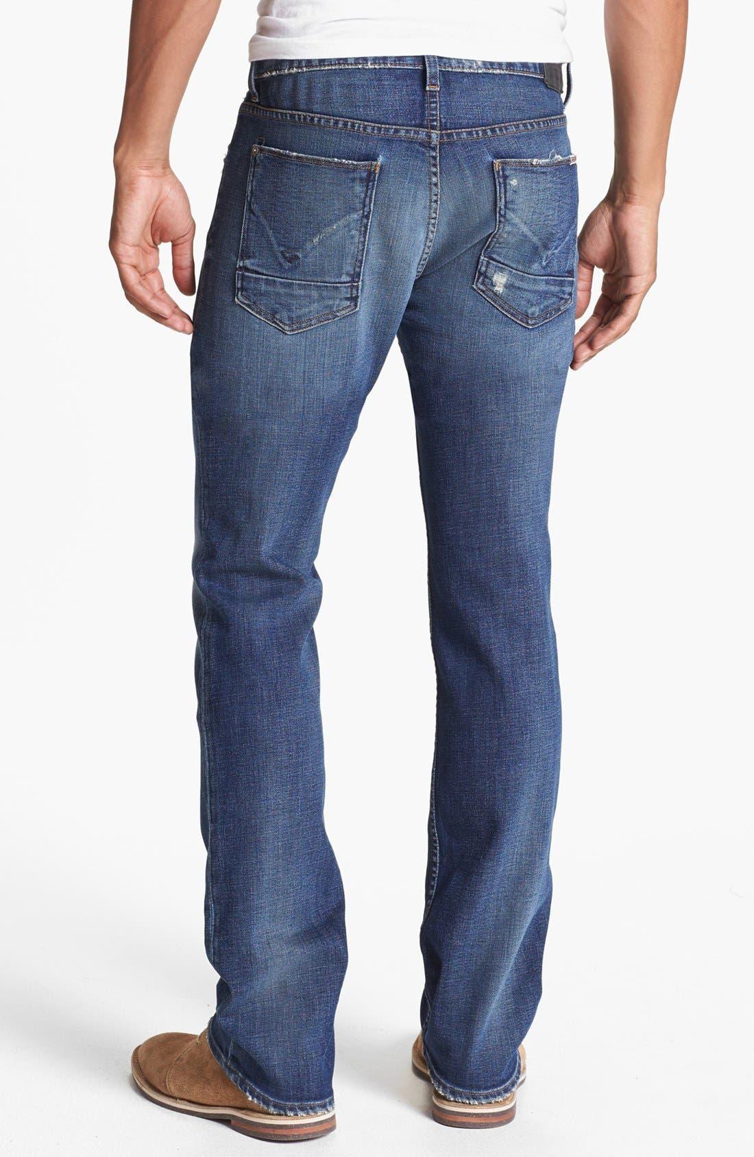 'Byron' Straight Leg Jeans,                             Alternate thumbnail 3, color,                             400