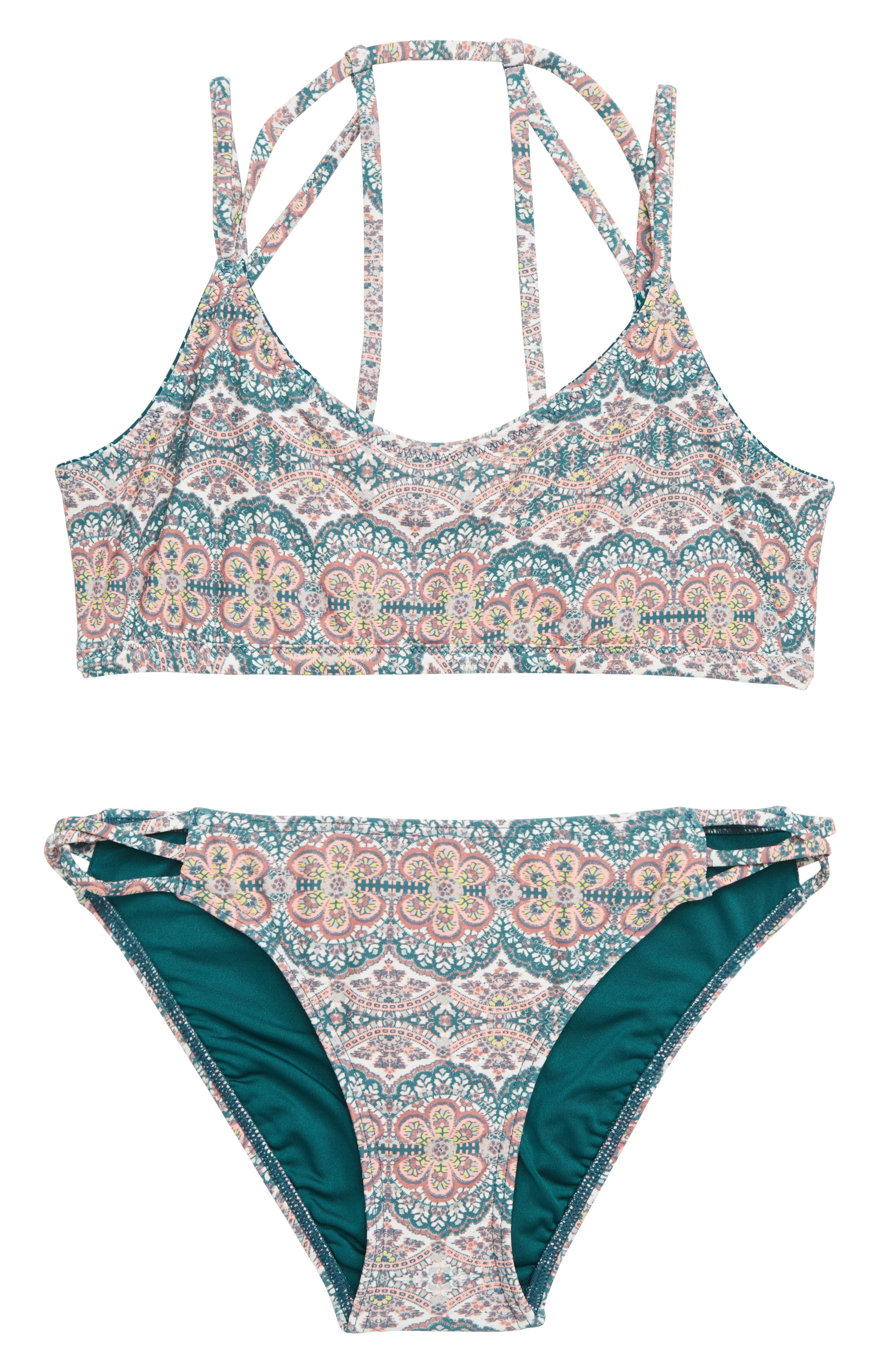 Fleetwood Reversible Two-Piece Swimsuit,                             Alternate thumbnail 2, color,                             MULTI