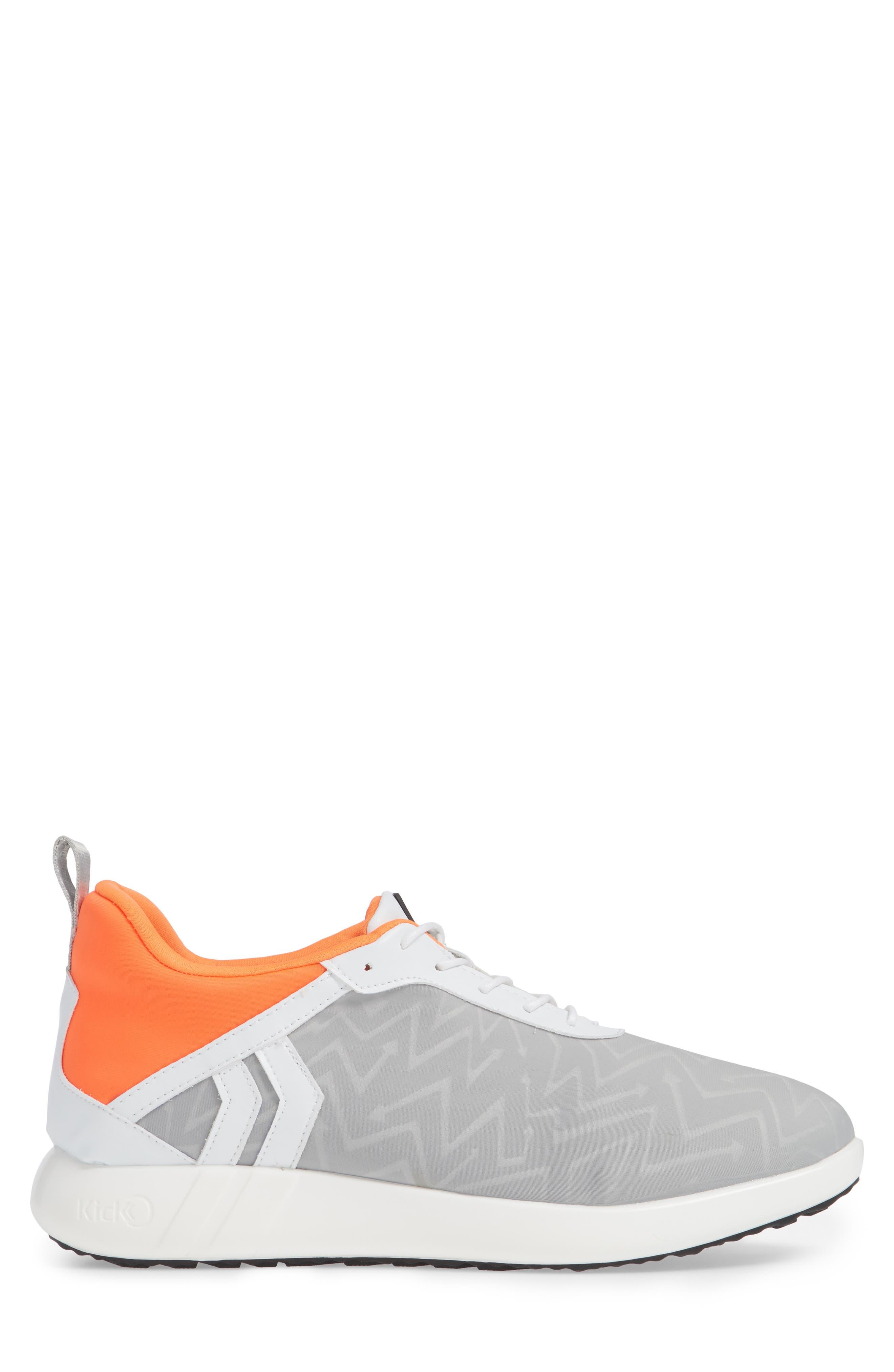 Vector Sneaker,                             Alternate thumbnail 3, color,                             GREY FABRIC