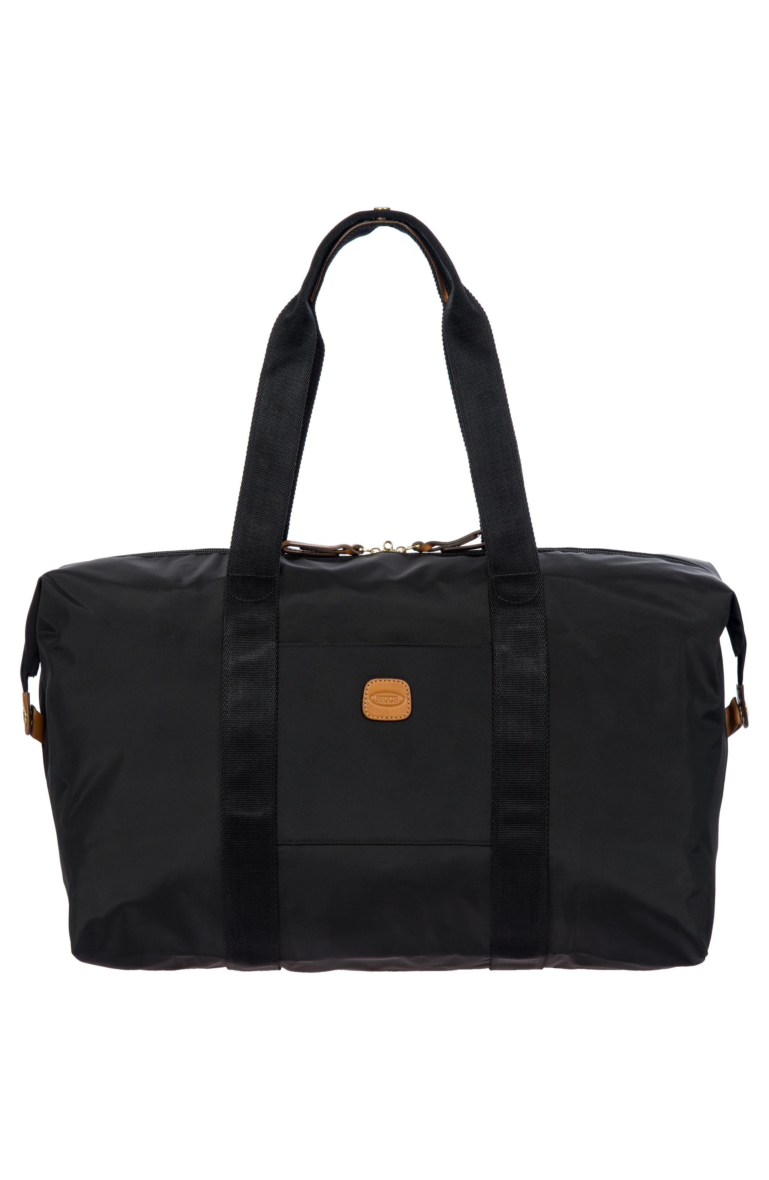 X-Bag 18-Inch Folding Duffel Bag,                             Alternate thumbnail 5, color,                             BLACK