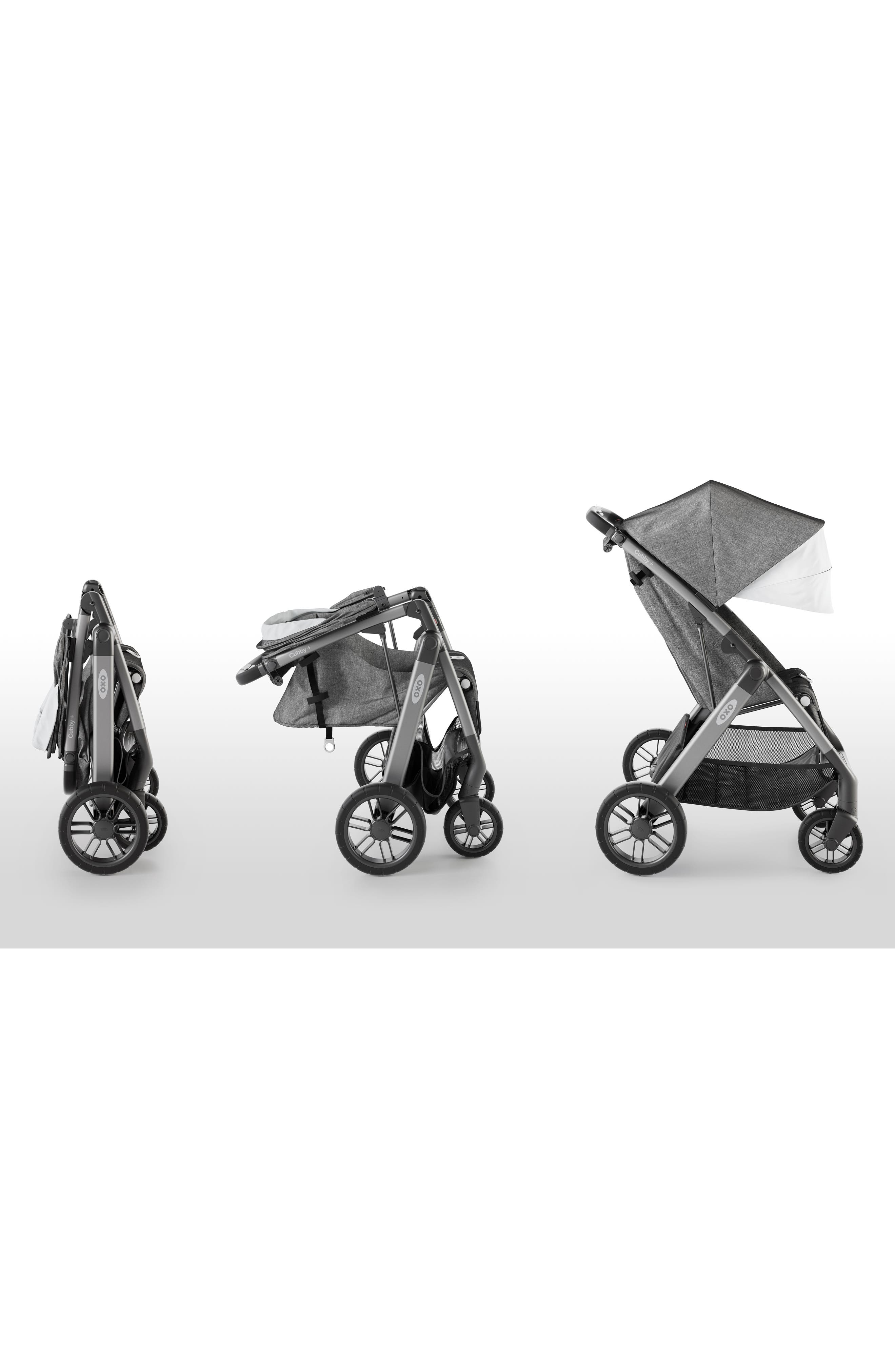 Cubby+ Stroller,                             Alternate thumbnail 9, color,                             HEATHER GRAY