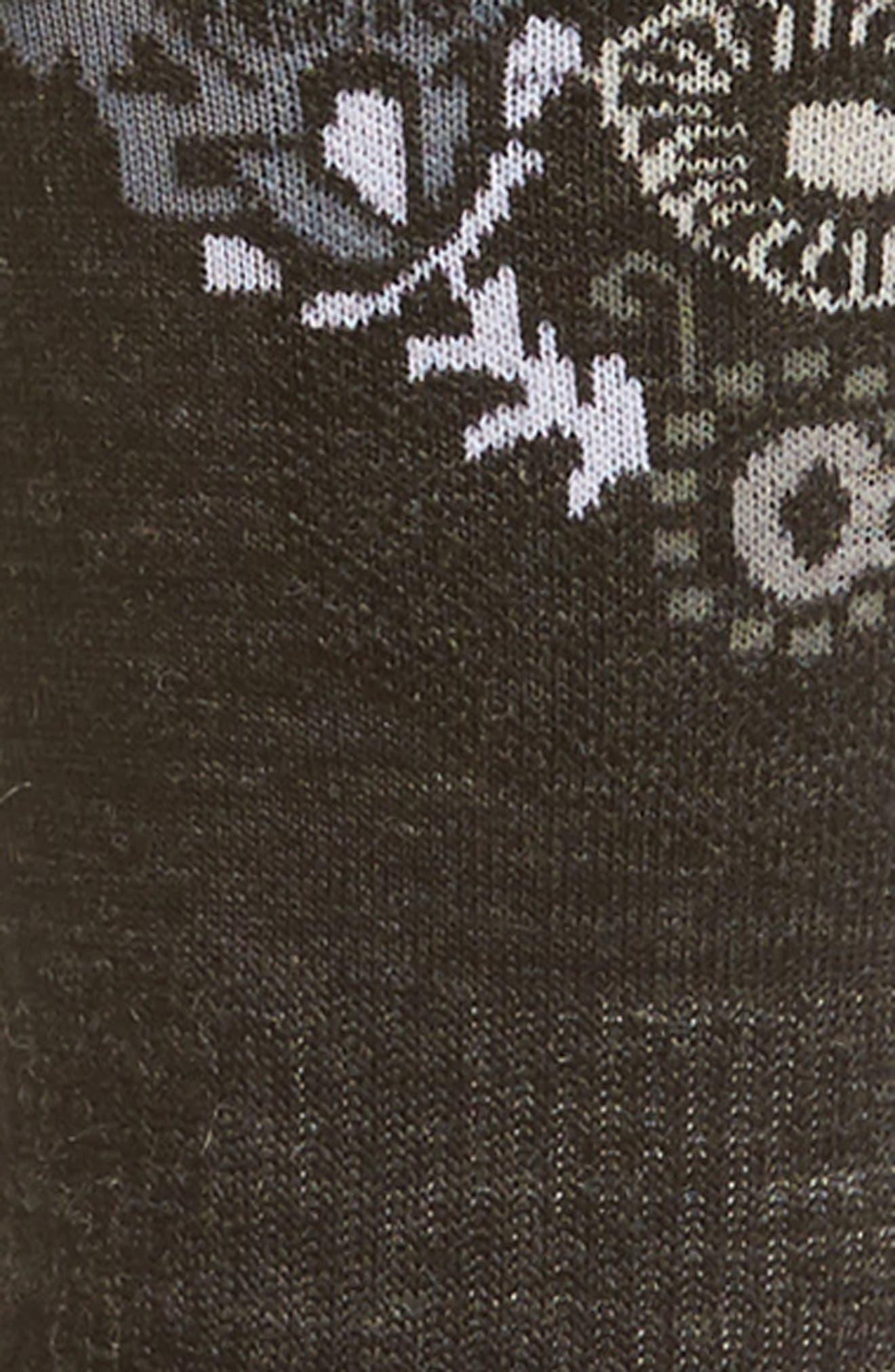 PhD<sup>®</sup> Ski Light Elite Paisley Socks,                             Alternate thumbnail 2, color,                             020