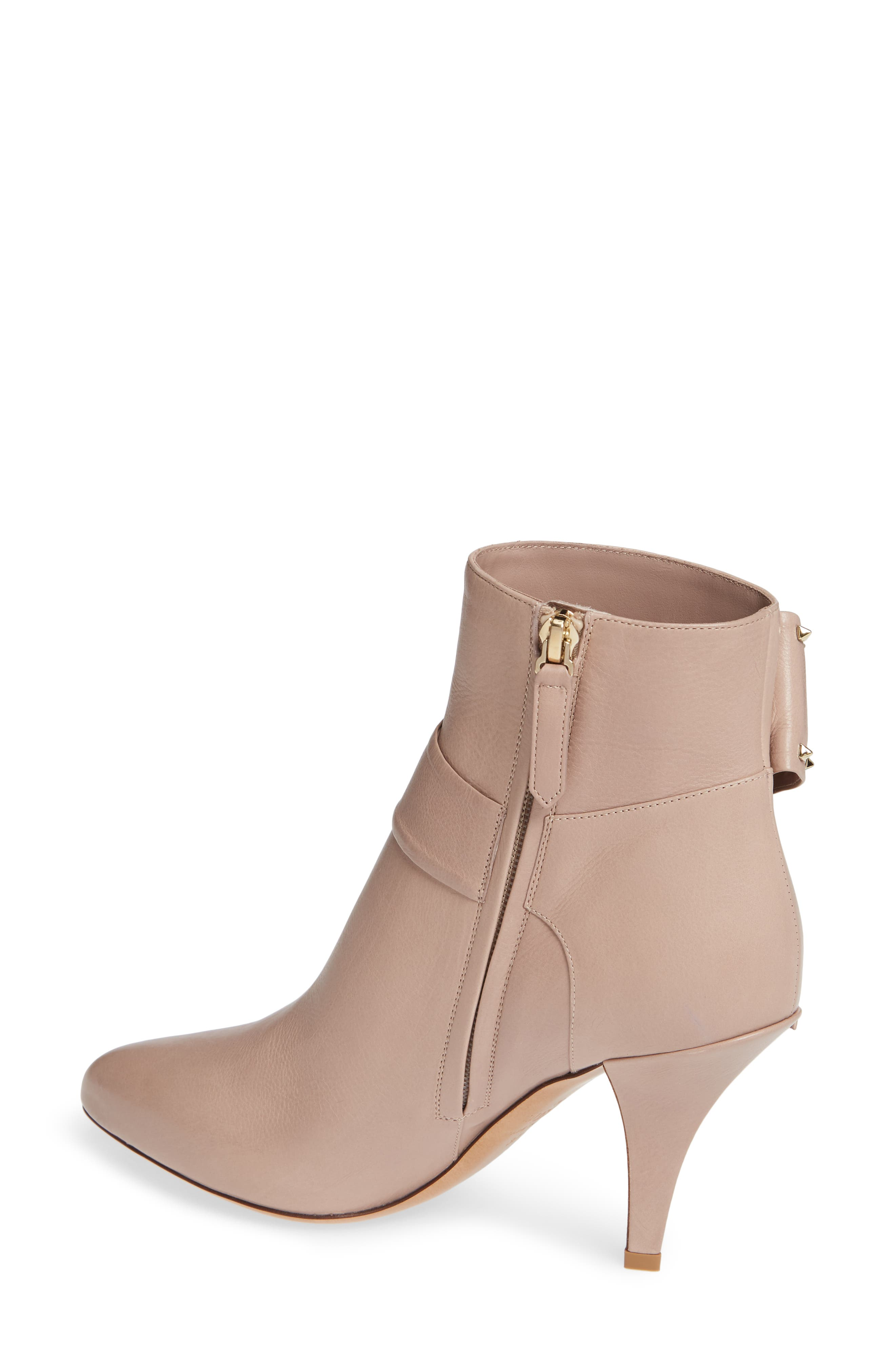 Studded Bow Ankle Bootie,                             Alternate thumbnail 2, color,                             250