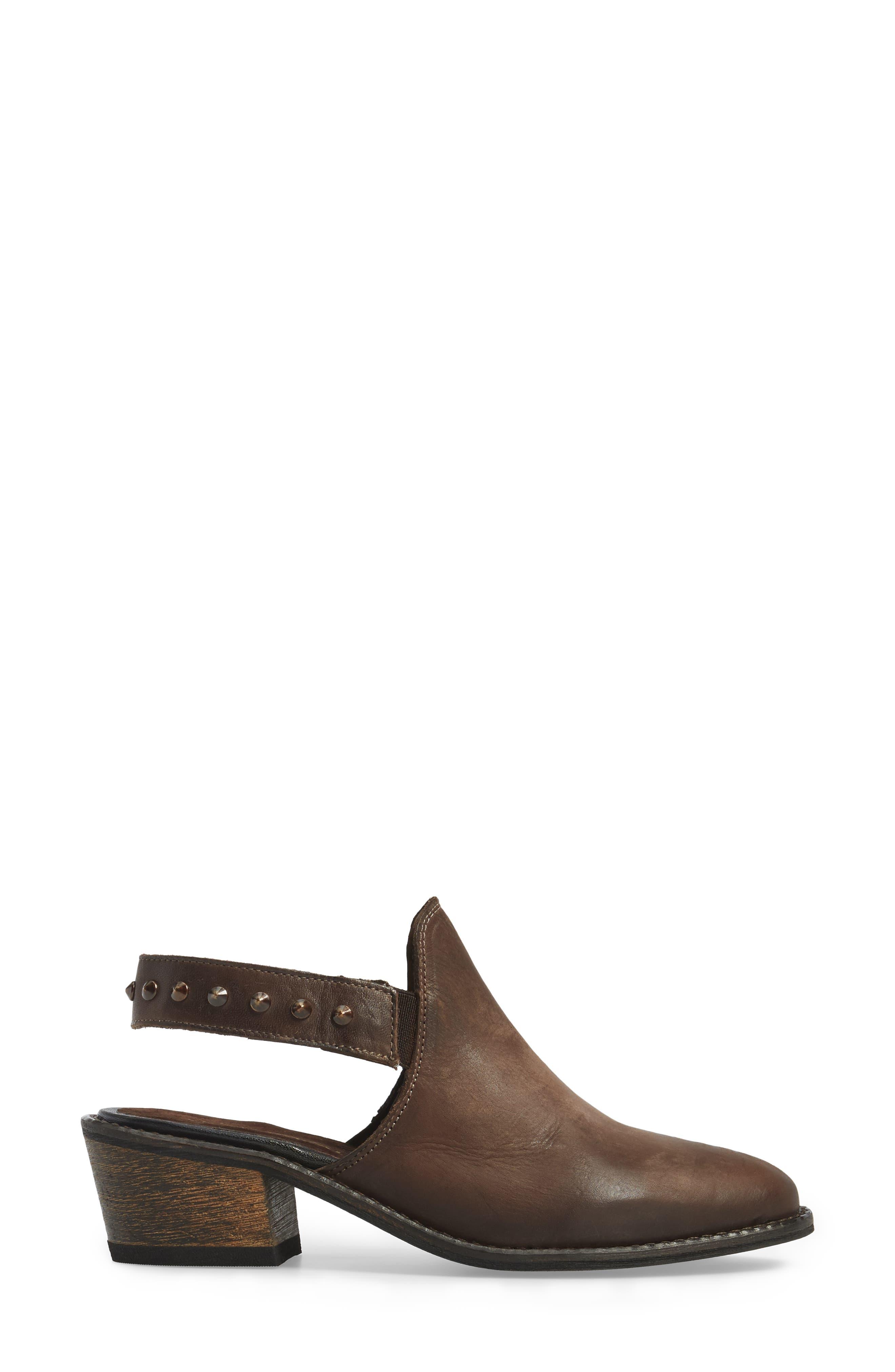 Adamo Studded Slingback Mule,                             Alternate thumbnail 5, color,