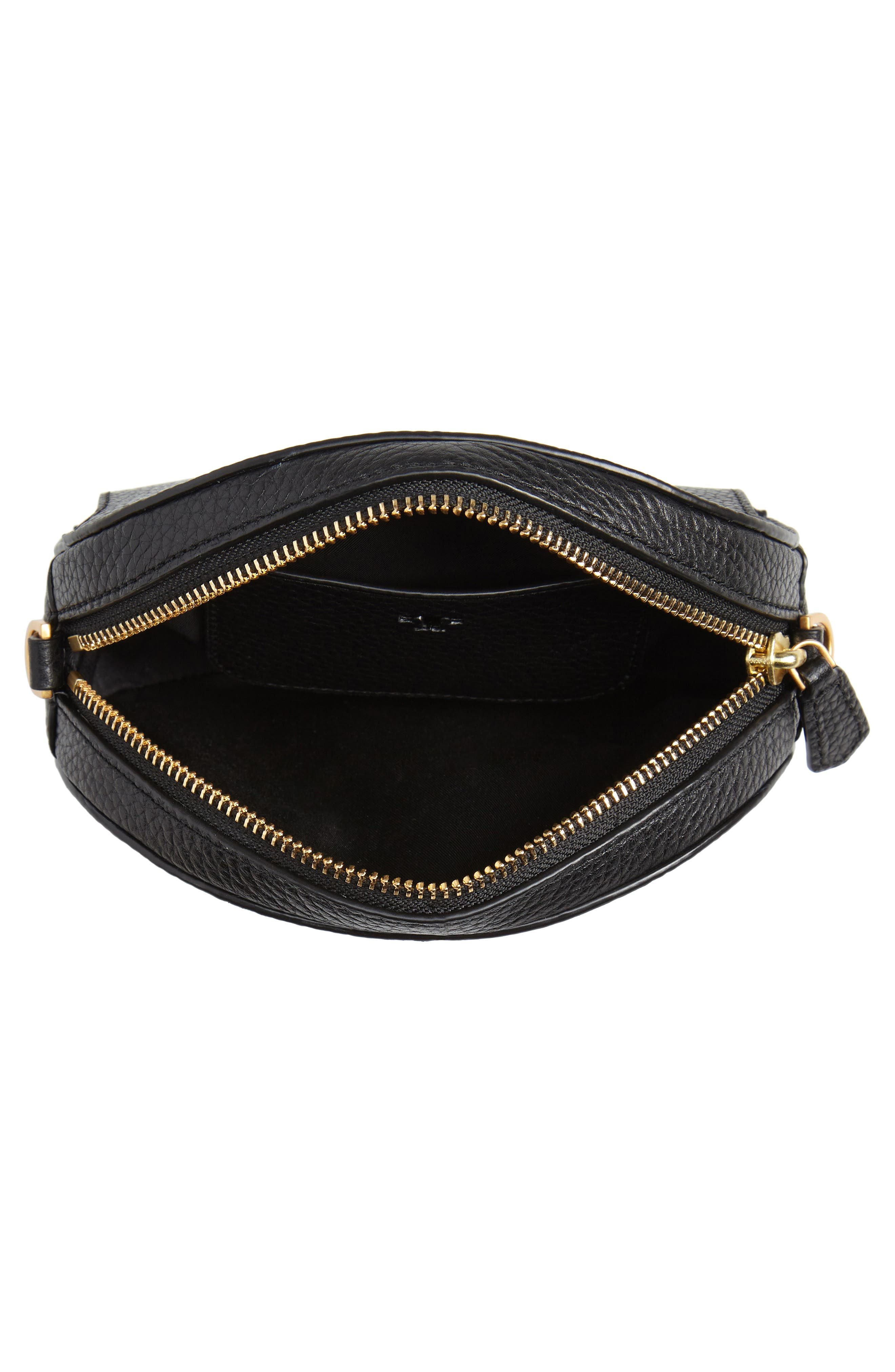 McGraw Leather Belt/Crossbody Bag,                             Alternate thumbnail 6, color,                             001
