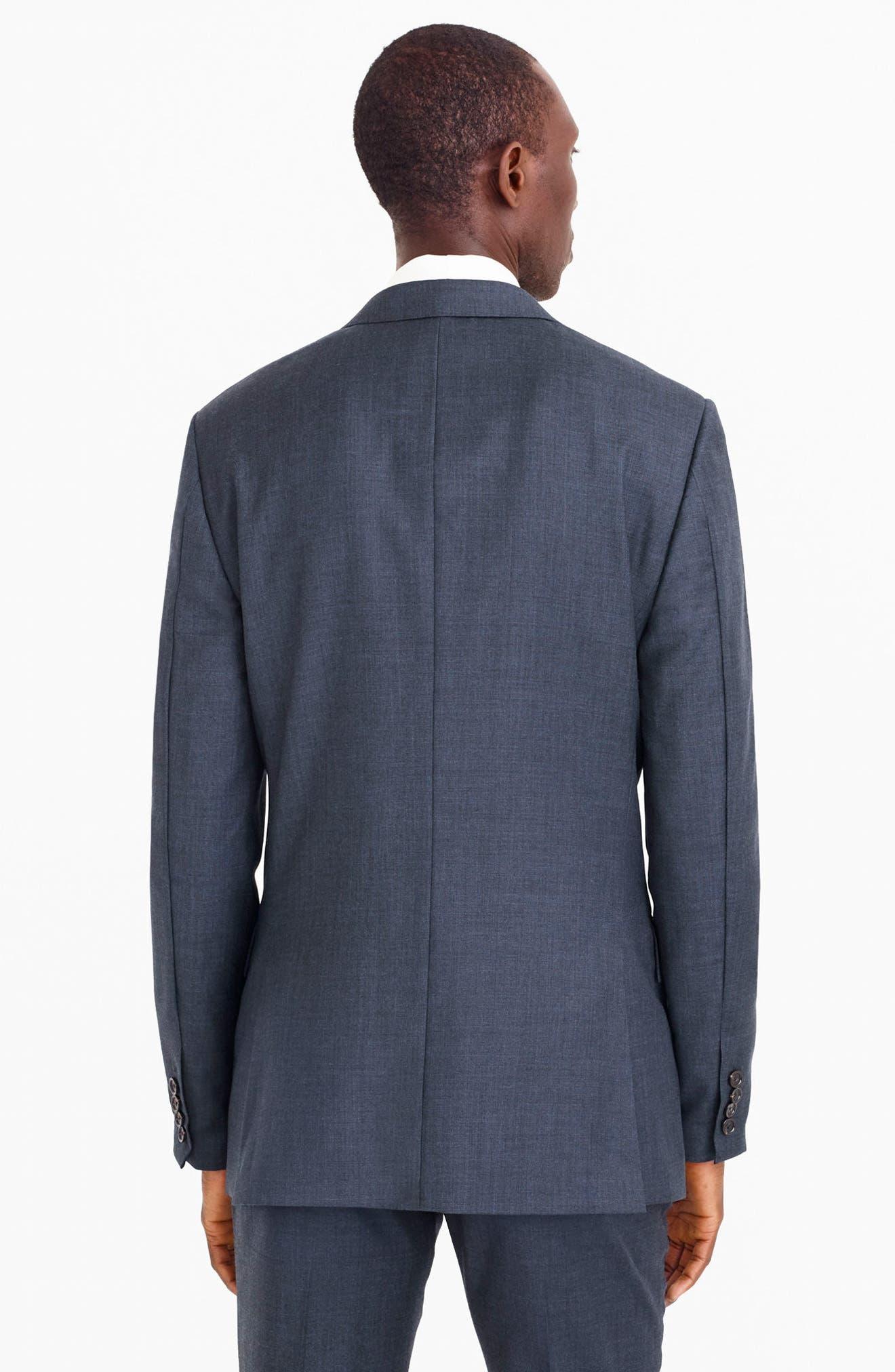 Ludlow Trim Fit Solid Wool Sport Coat,                             Alternate thumbnail 23, color,