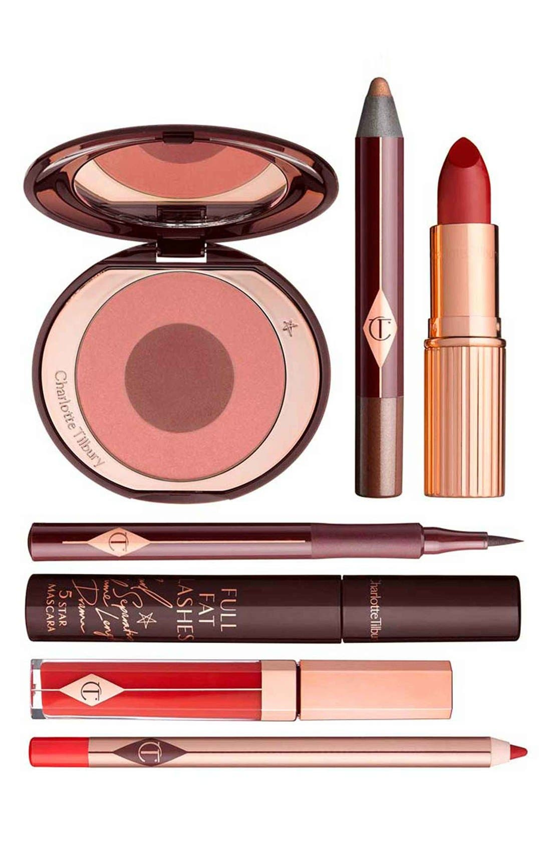 CHARLOTTE TILBURY The Bombshell Look Set, Main, color, NO COLOR