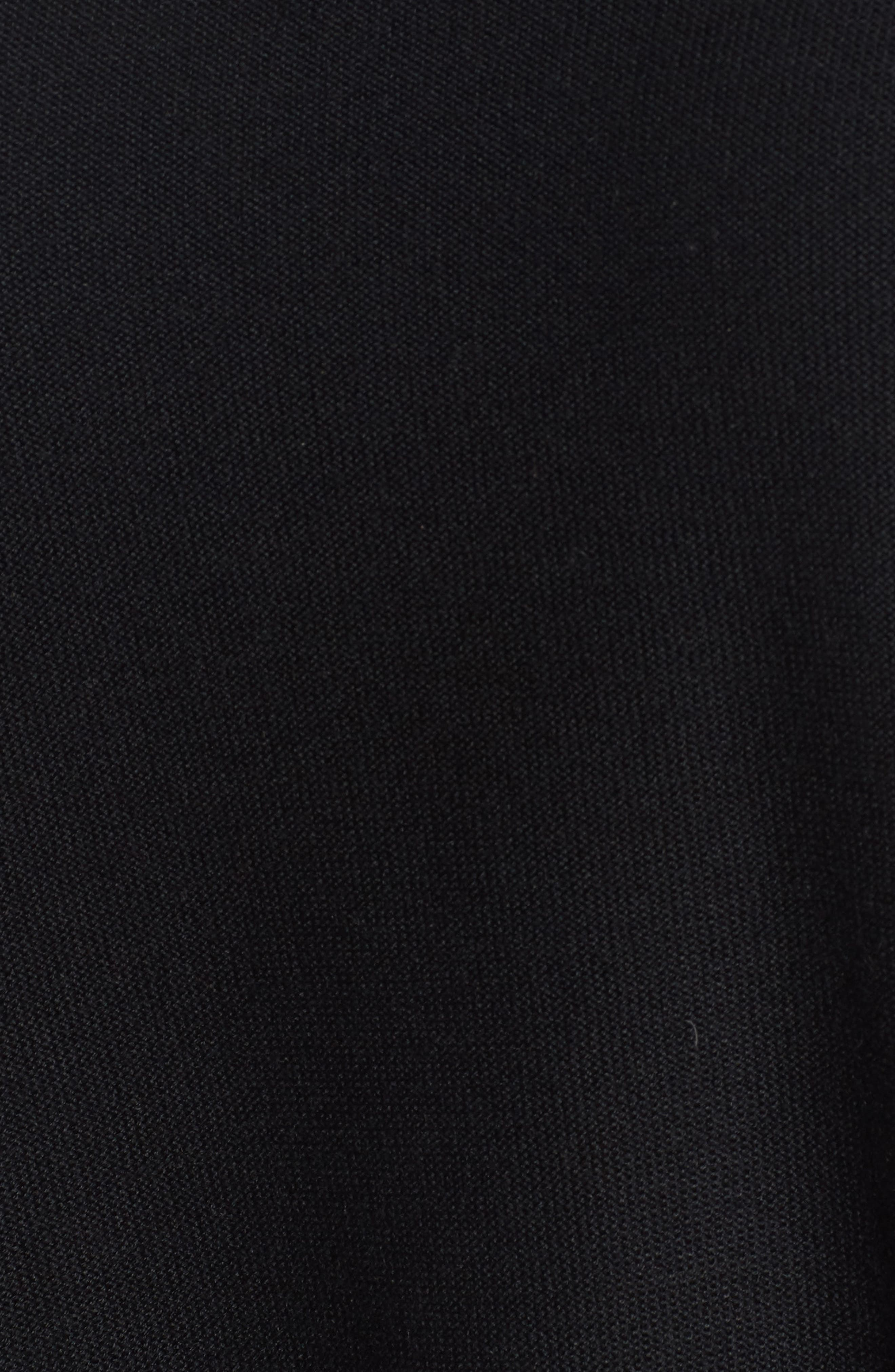 Tencel<sup>®</sup> & Merino Wool Top,                             Alternate thumbnail 5, color,                             001
