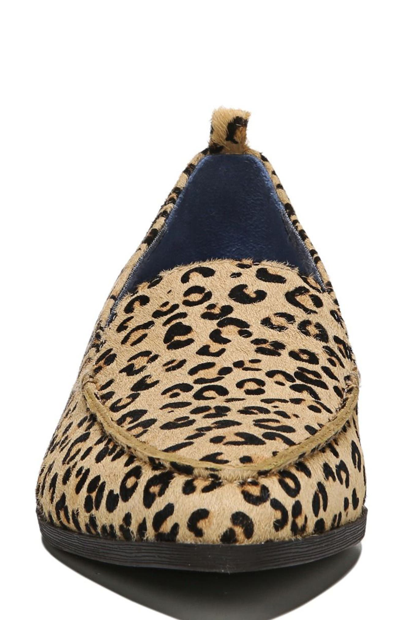 Elegant Genuine Calf Hair Loafer,                             Alternate thumbnail 4, color,