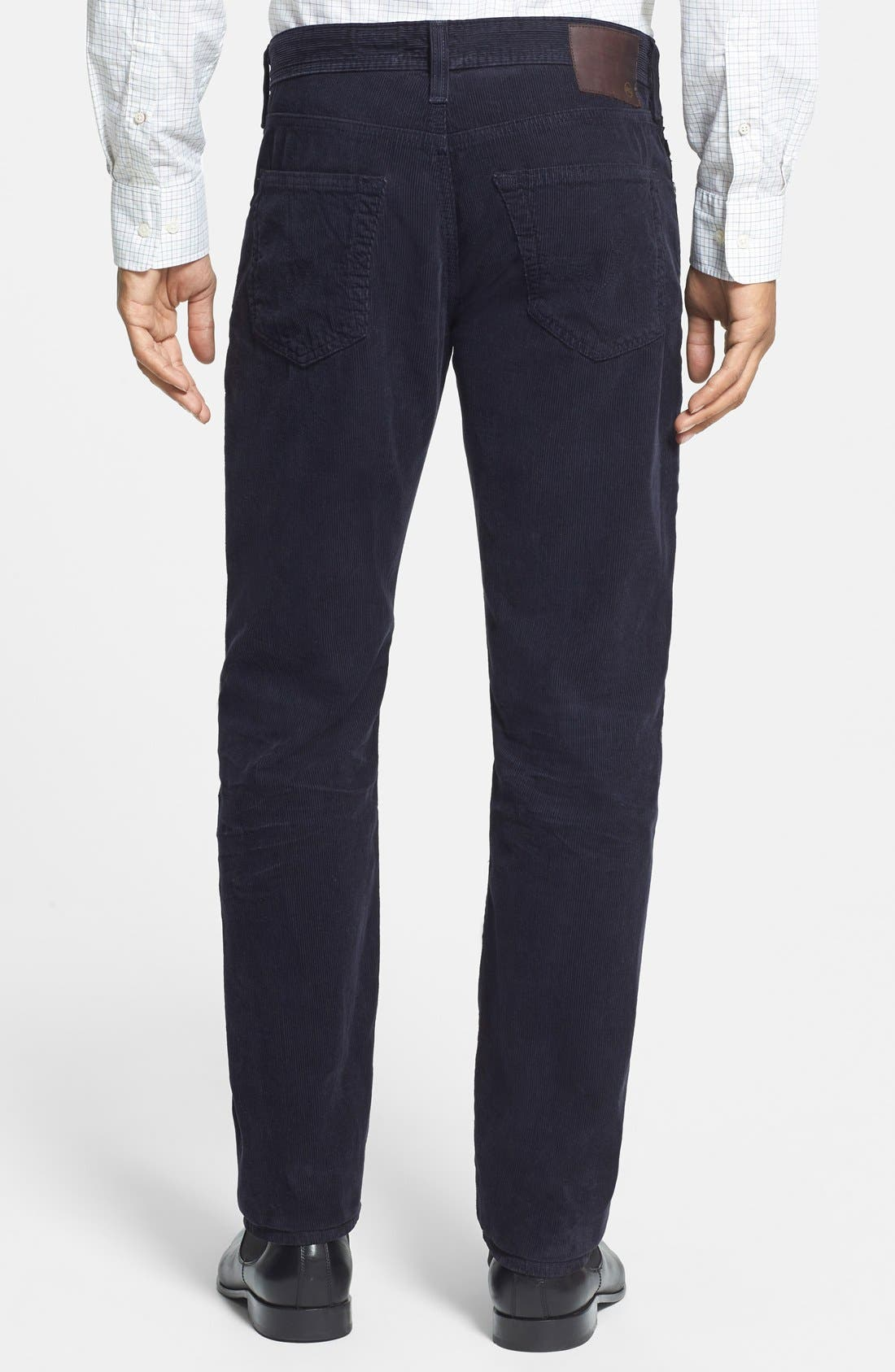 'Graduate' Tailored Straight Leg Corduroy Pants,                             Alternate thumbnail 57, color,