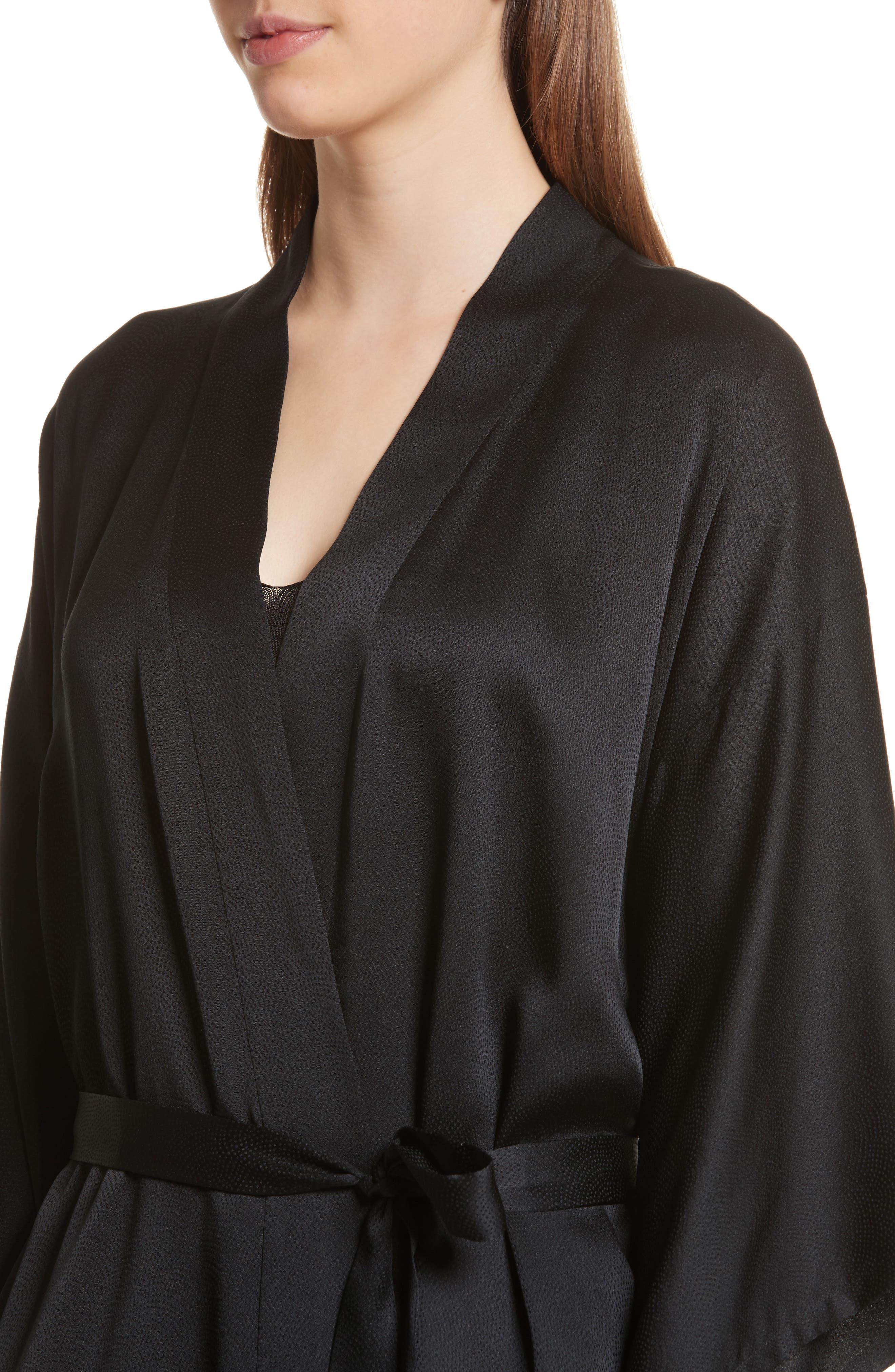 Maia Silk Kimono,                             Alternate thumbnail 4, color,                             003