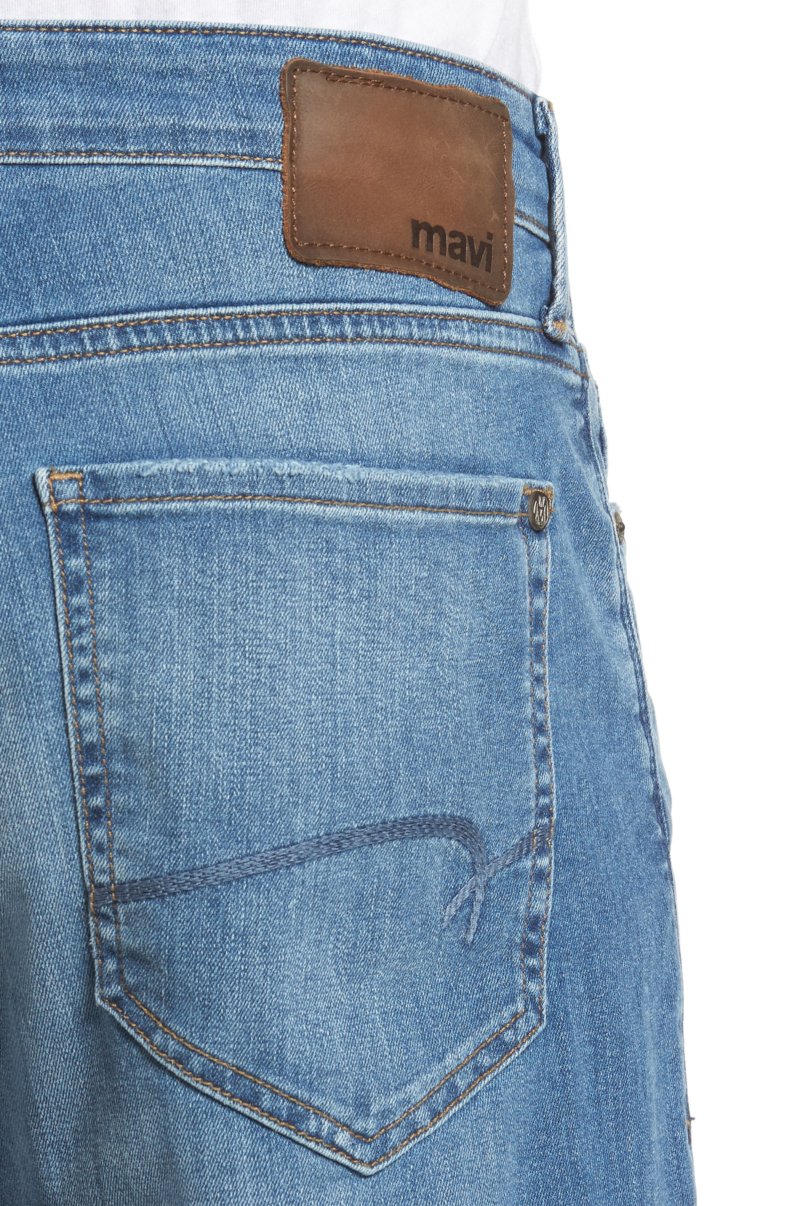 Max Relaxed Fit Jeans,                             Alternate thumbnail 4, color,                             401