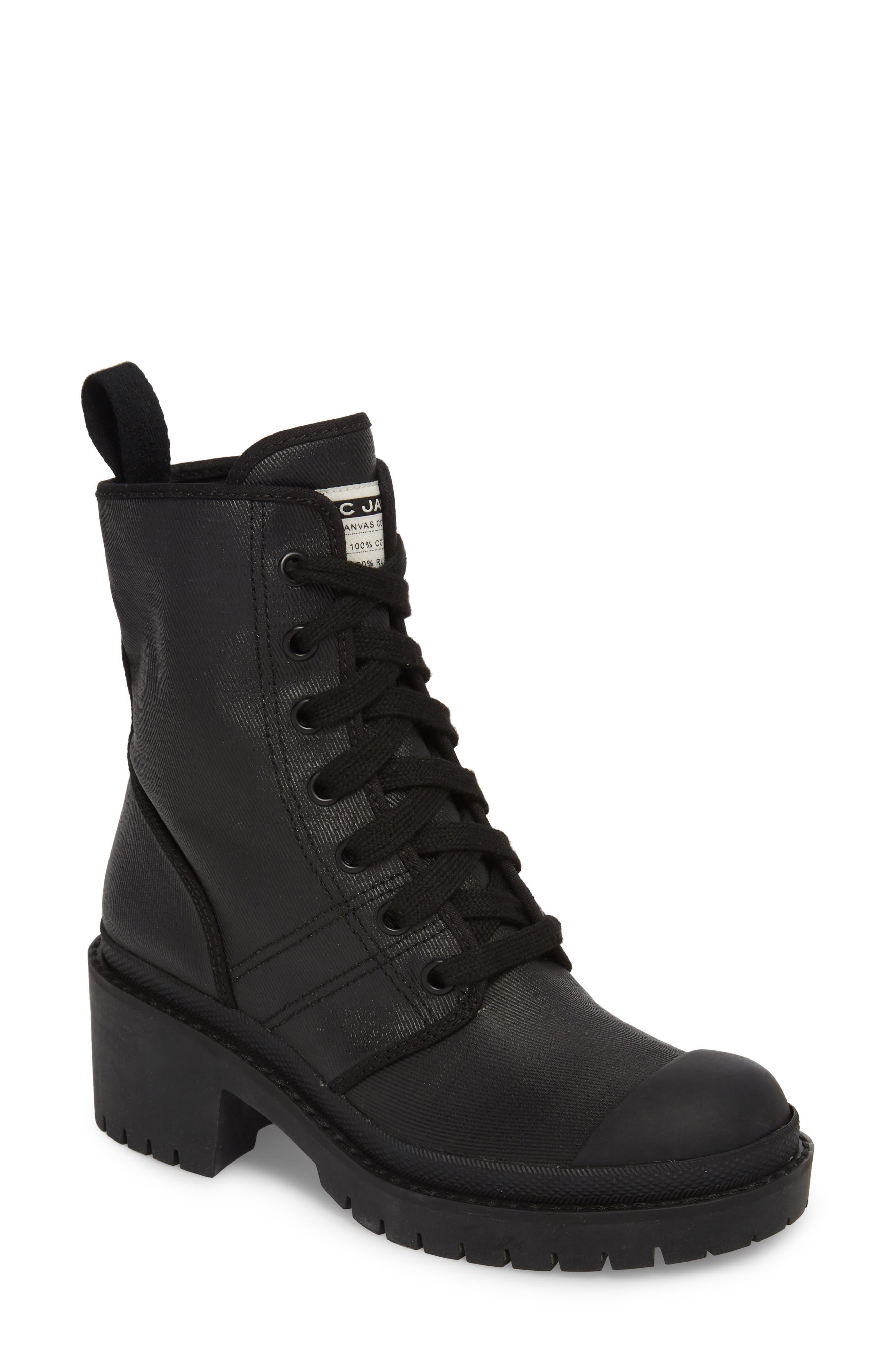 Bristol Lace-Up Boot,                             Main thumbnail 1, color,                             001