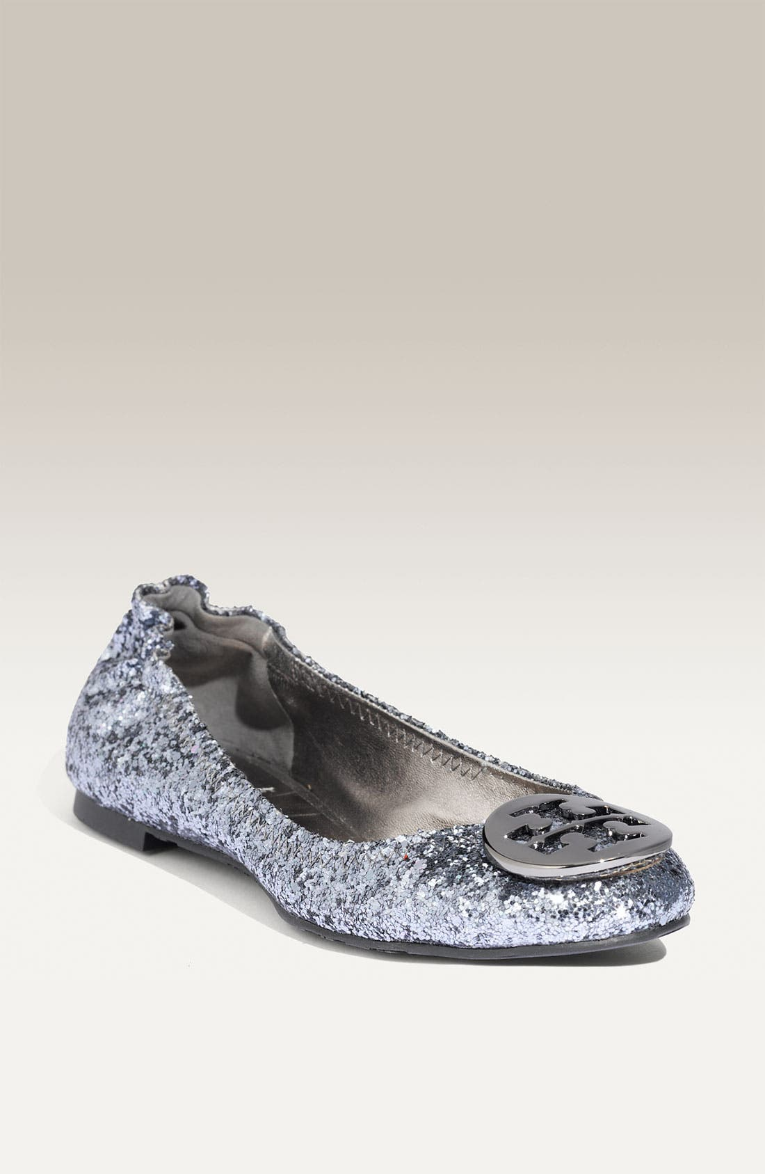 'Reva' Glitter Flat, Main, color, 032