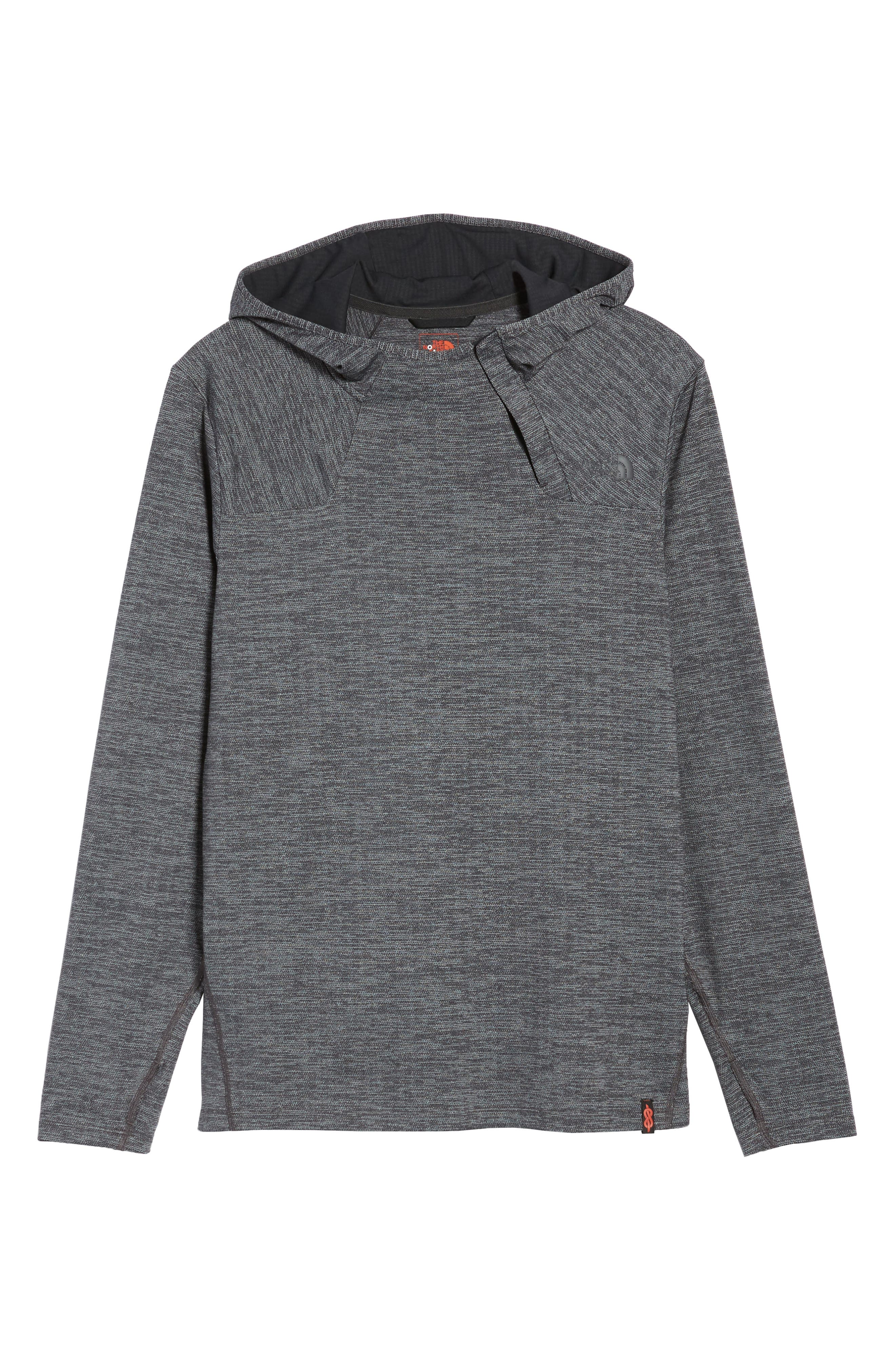 THE NORTH FACE,                             Beyond The Wall Hoodie,                             Alternate thumbnail 6, color,                             001