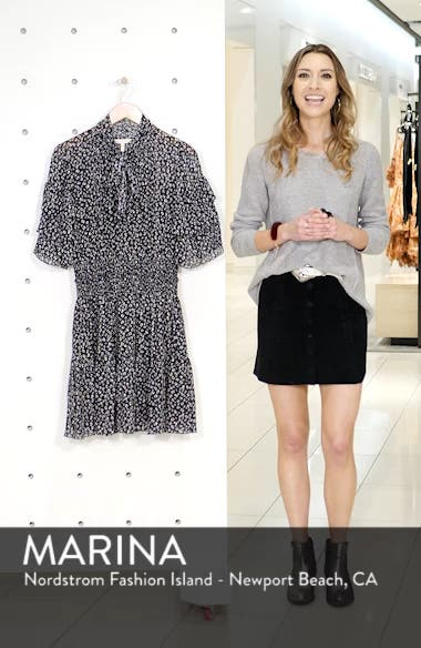 Cheetah Print Silk Blend Dress, sales video thumbnail