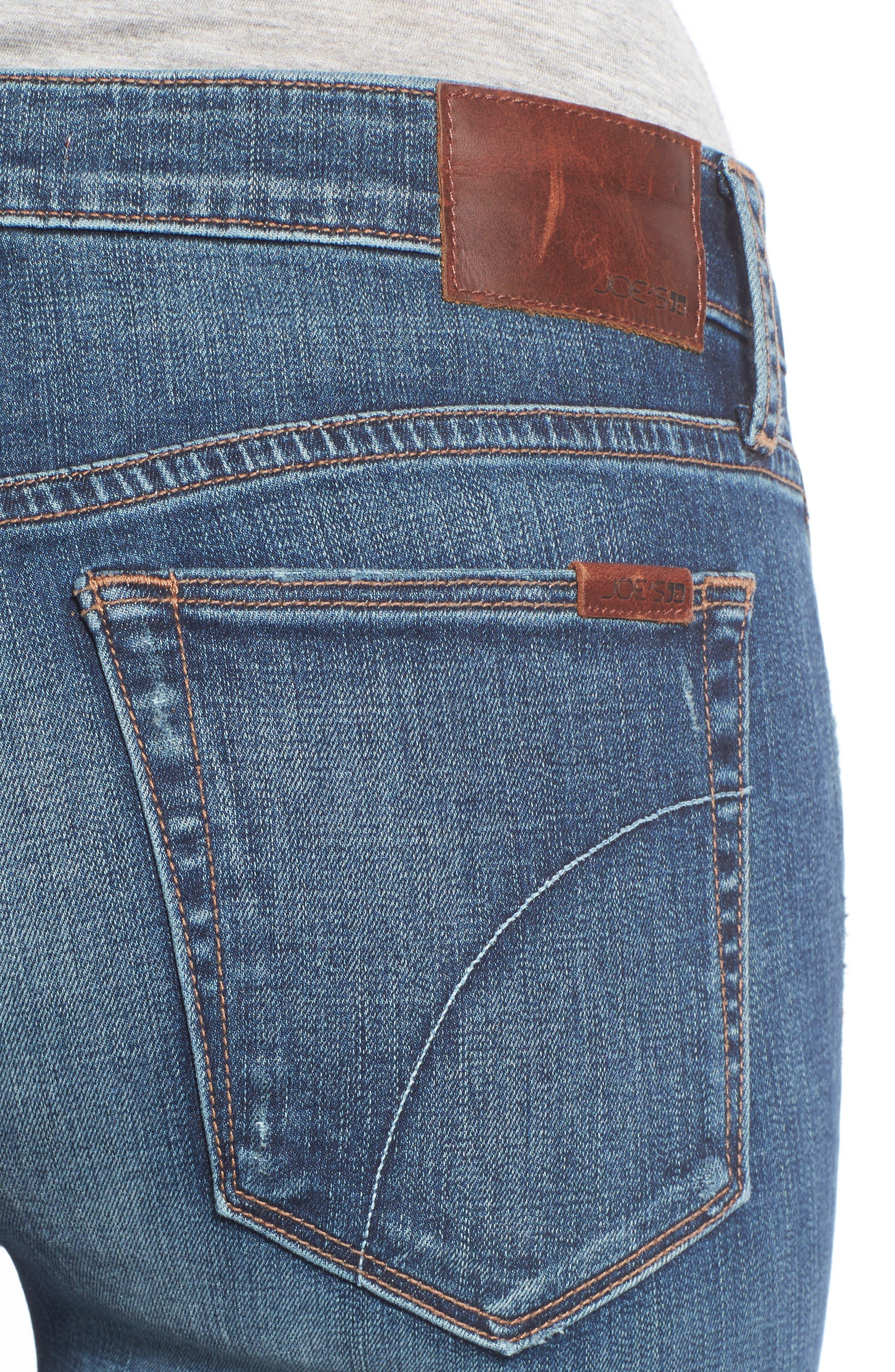 Andie Skinny Crop Jeans,                             Alternate thumbnail 4, color,