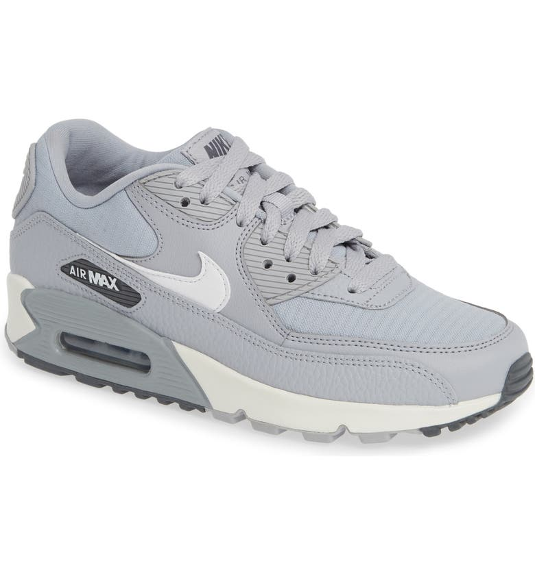 finest selection a678c 43d5d NIKE  Air Max 90  Sneaker, Main, color, WOLF GREY  WHITE