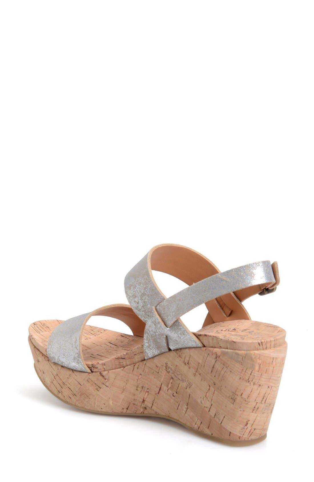 'Austin' Slingback Wedge Sandal,                             Alternate thumbnail 16, color,