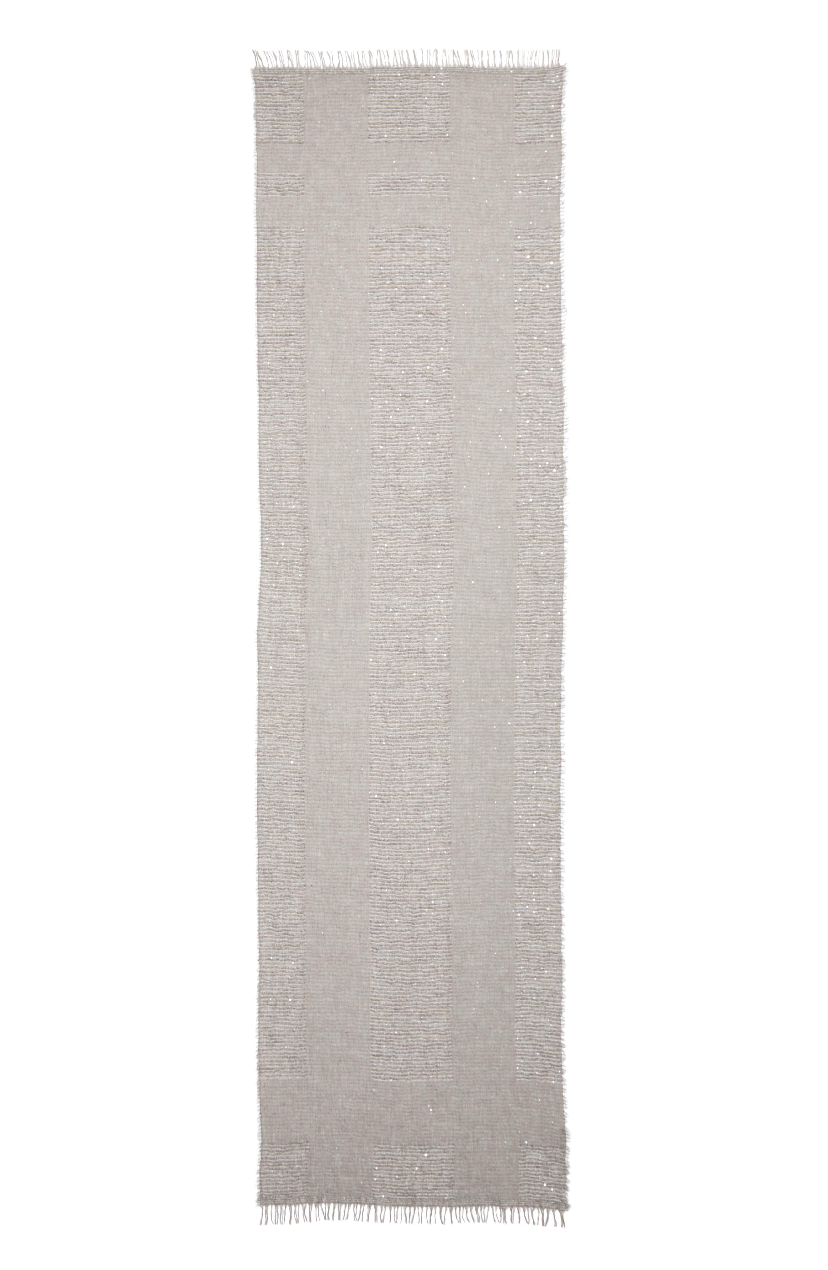 Fringed Modal Blend Scarf,                         Main,                         color, 020