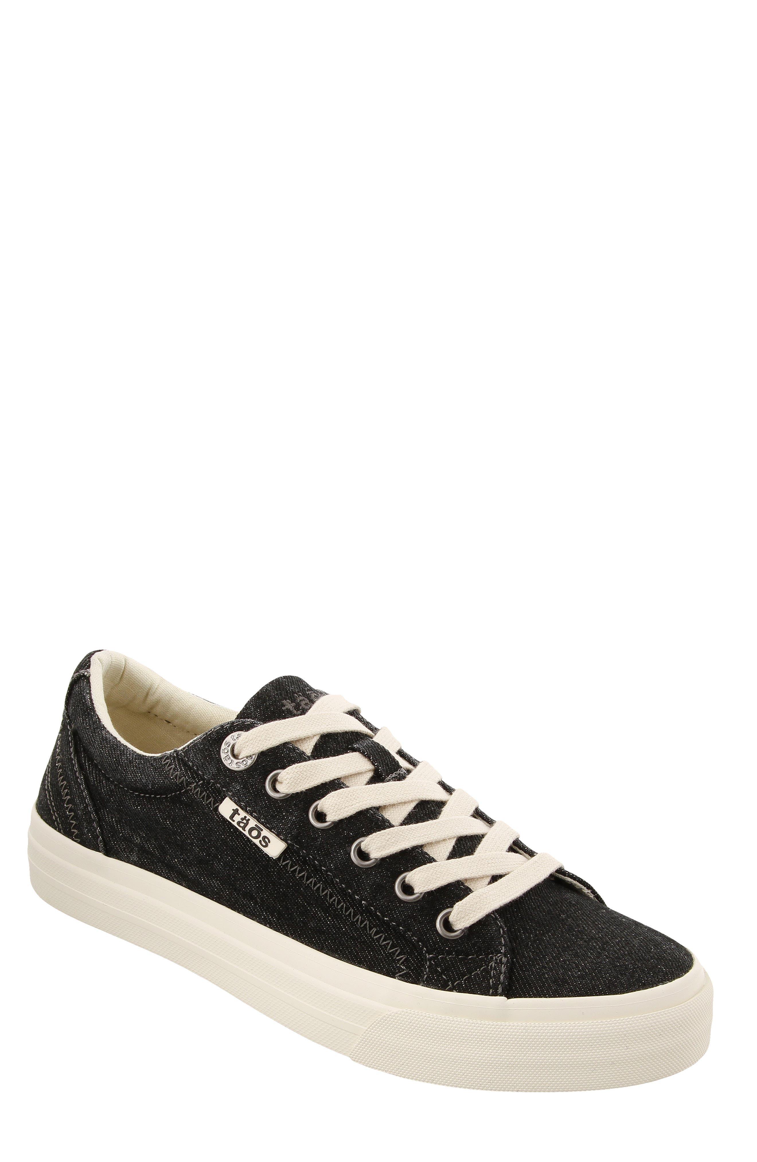 Plim Soul Sneaker,                         Main,                         color, BLACK DENIM FABRIC
