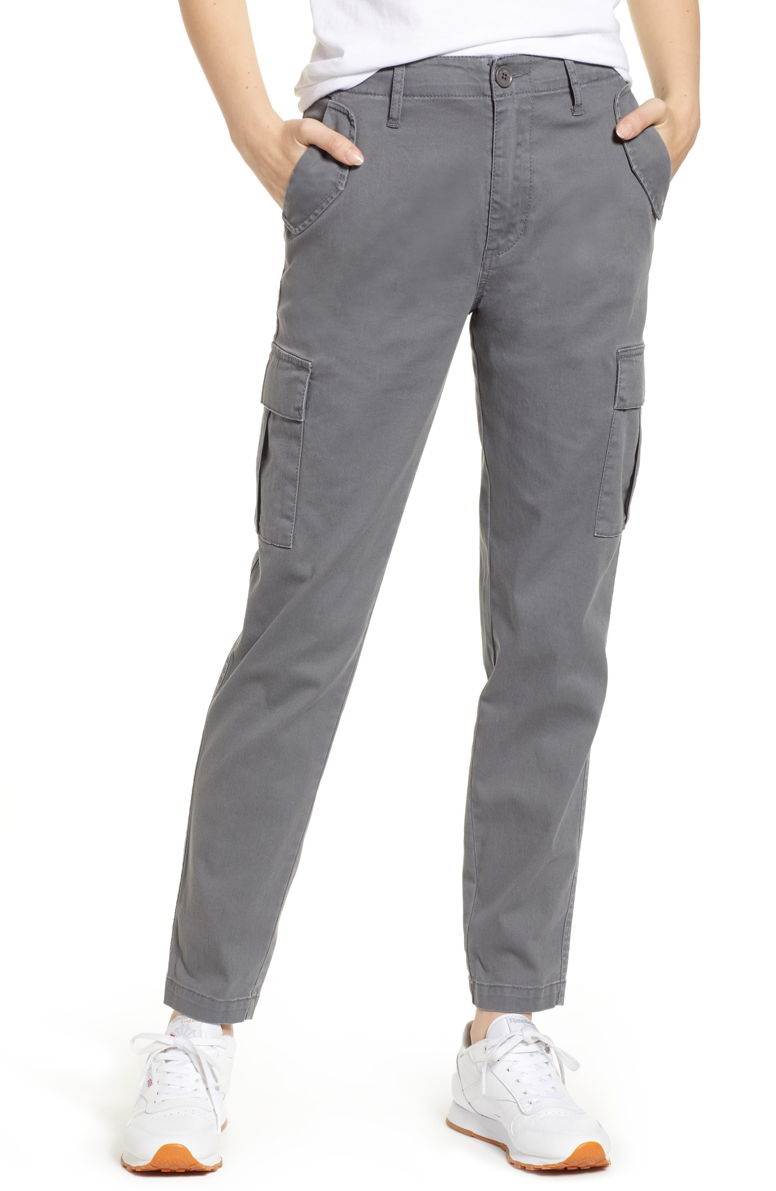 Union Bay Garner Military Cargo Pants, Grey