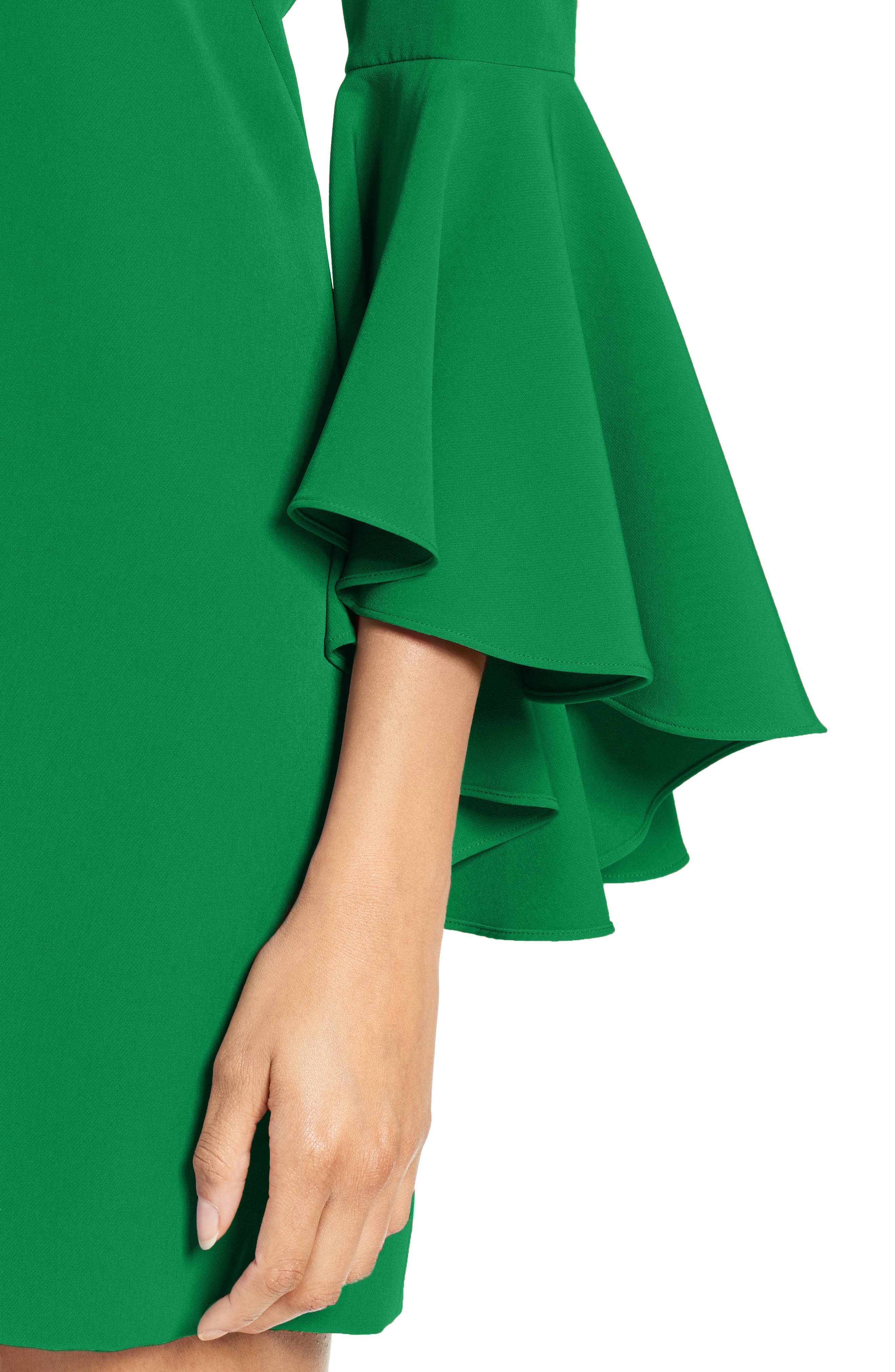 Nicole Bell Sleeve Dress,                             Alternate thumbnail 55, color,
