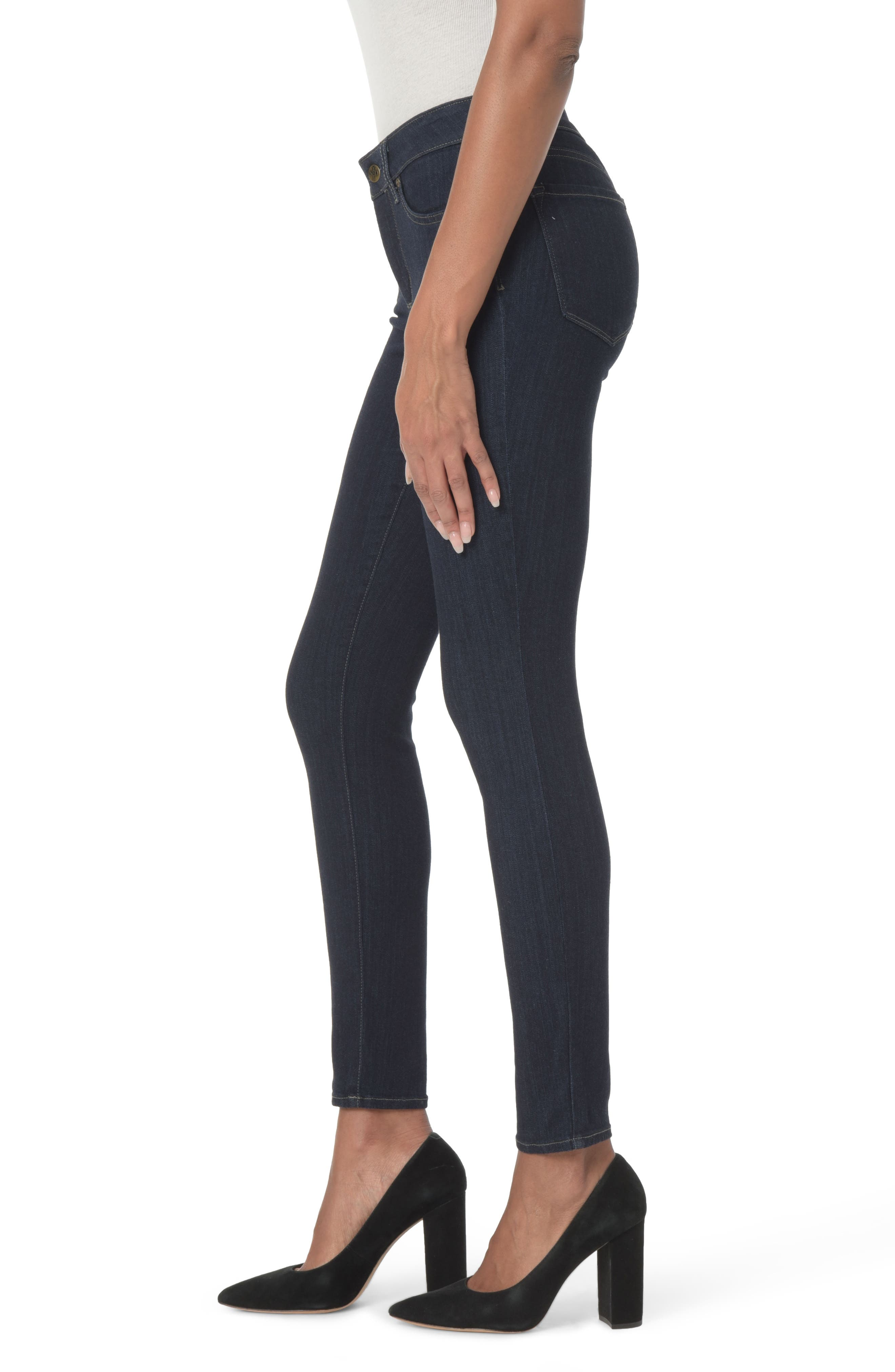Ami Stretch Super Skinny Jeans,                             Alternate thumbnail 16, color,