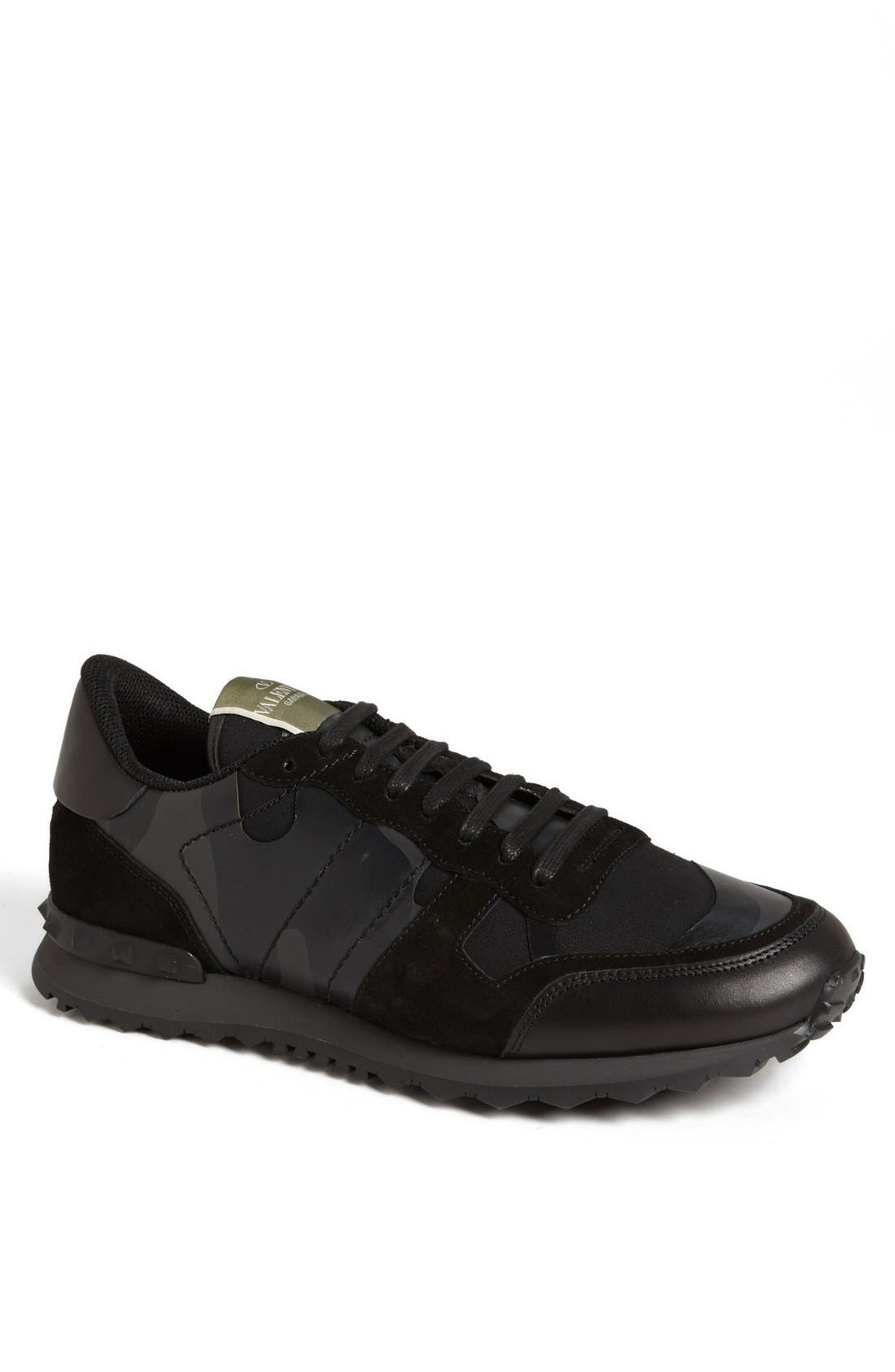 Camouflage Sneaker,                             Main thumbnail 1, color,                             001