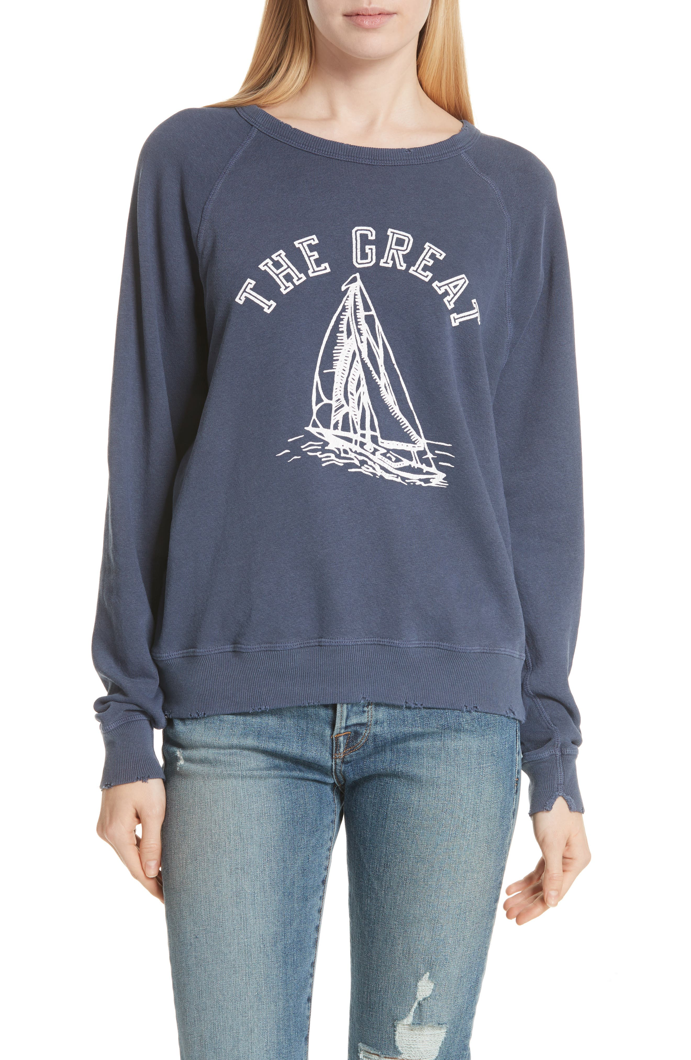 The College Sweatshirt,                         Main,                         color, 405