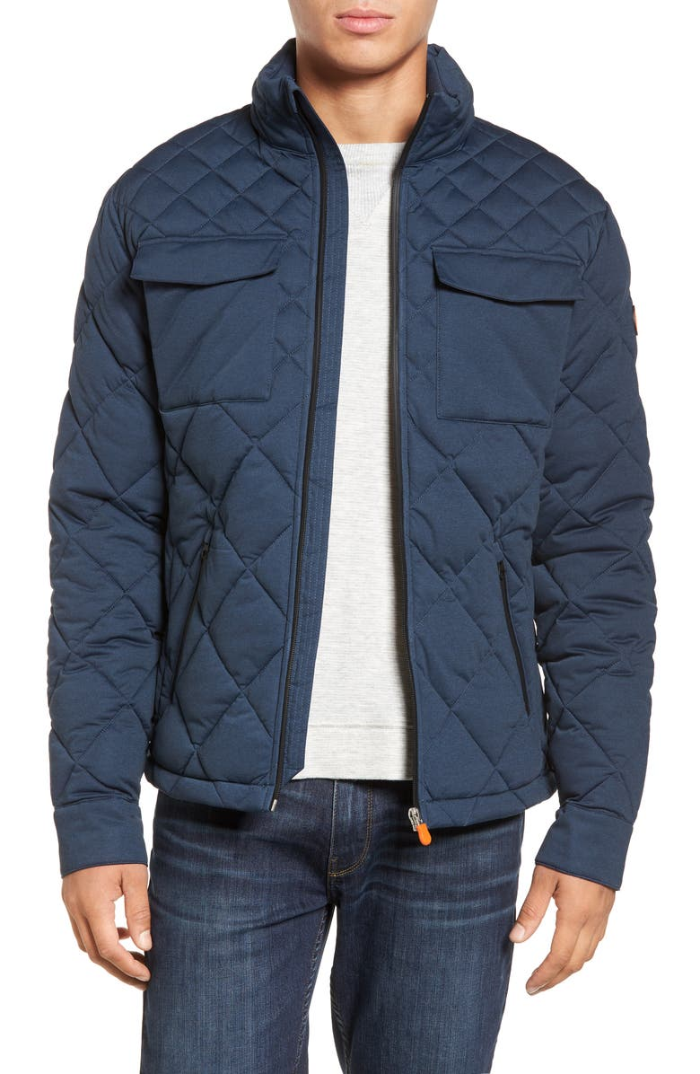 Save The Duck Stretch Quilted Field Jacket Nordstrom
