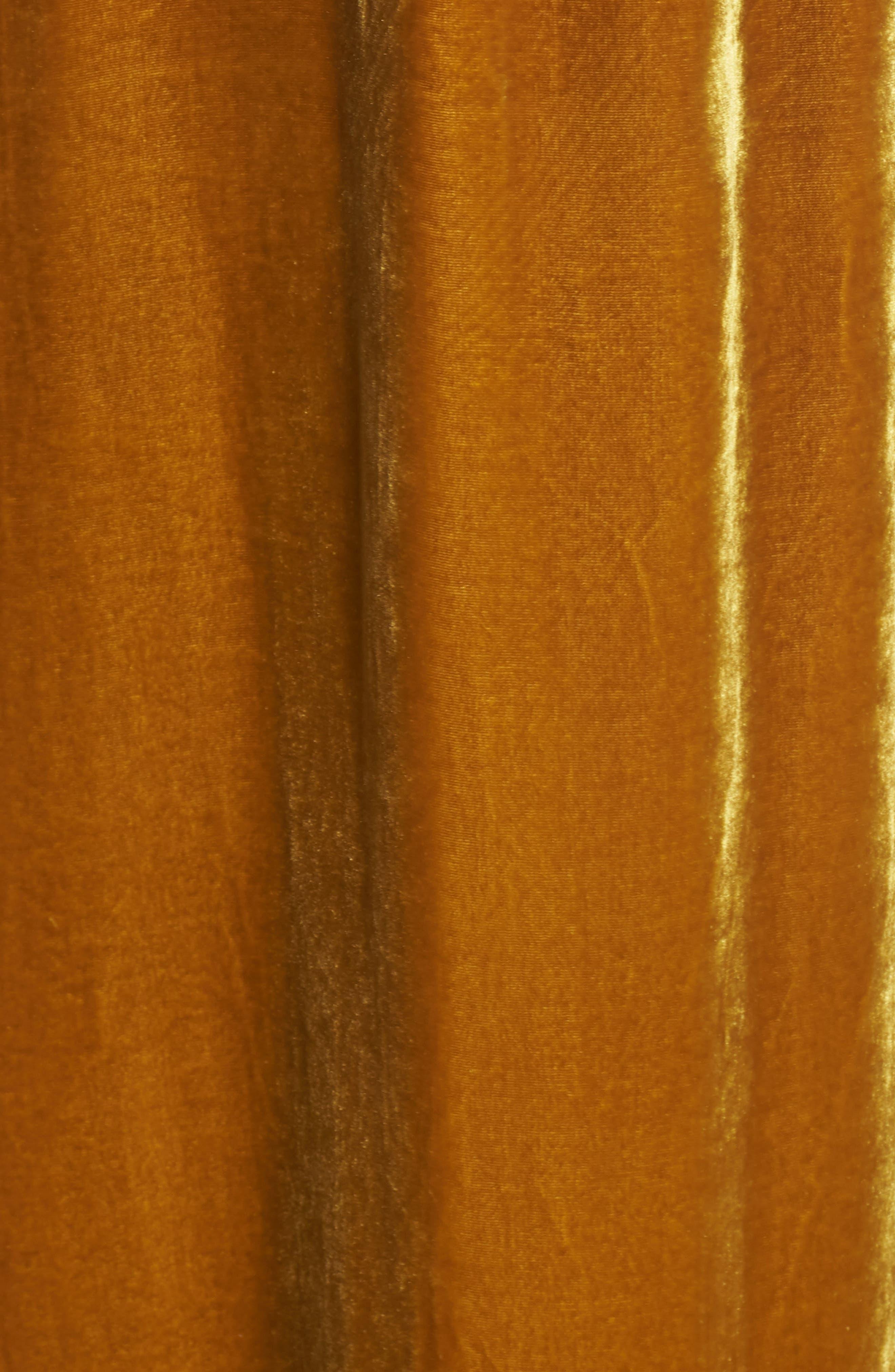 Velvet Halter Maxi Dress,                             Alternate thumbnail 6, color,                             720